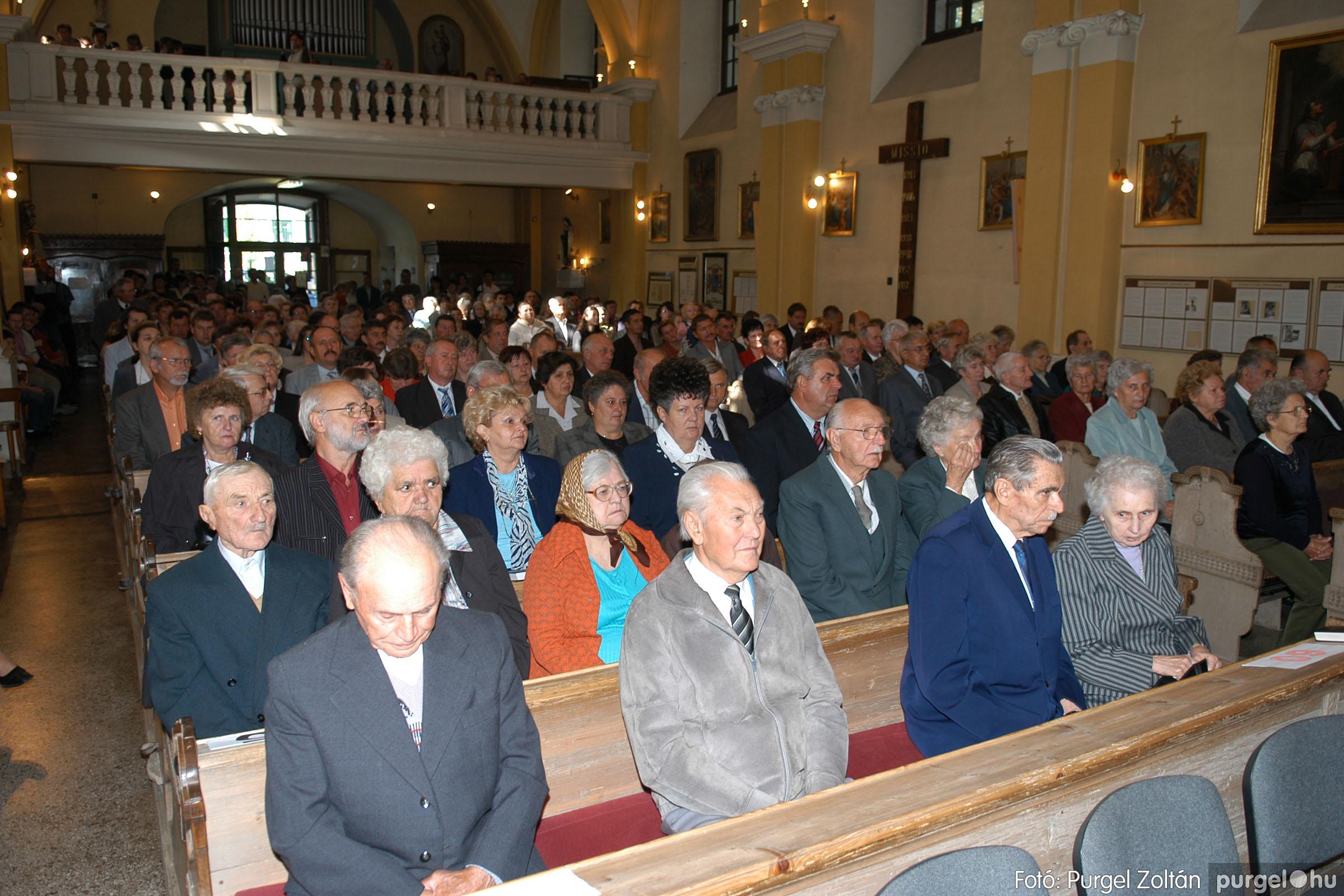 2007.09.30. 005 Kisboldogasszony Templom házassági évfordulók - Fotó:PURGEL ZOLTÁN© DSC_0093q.jpg