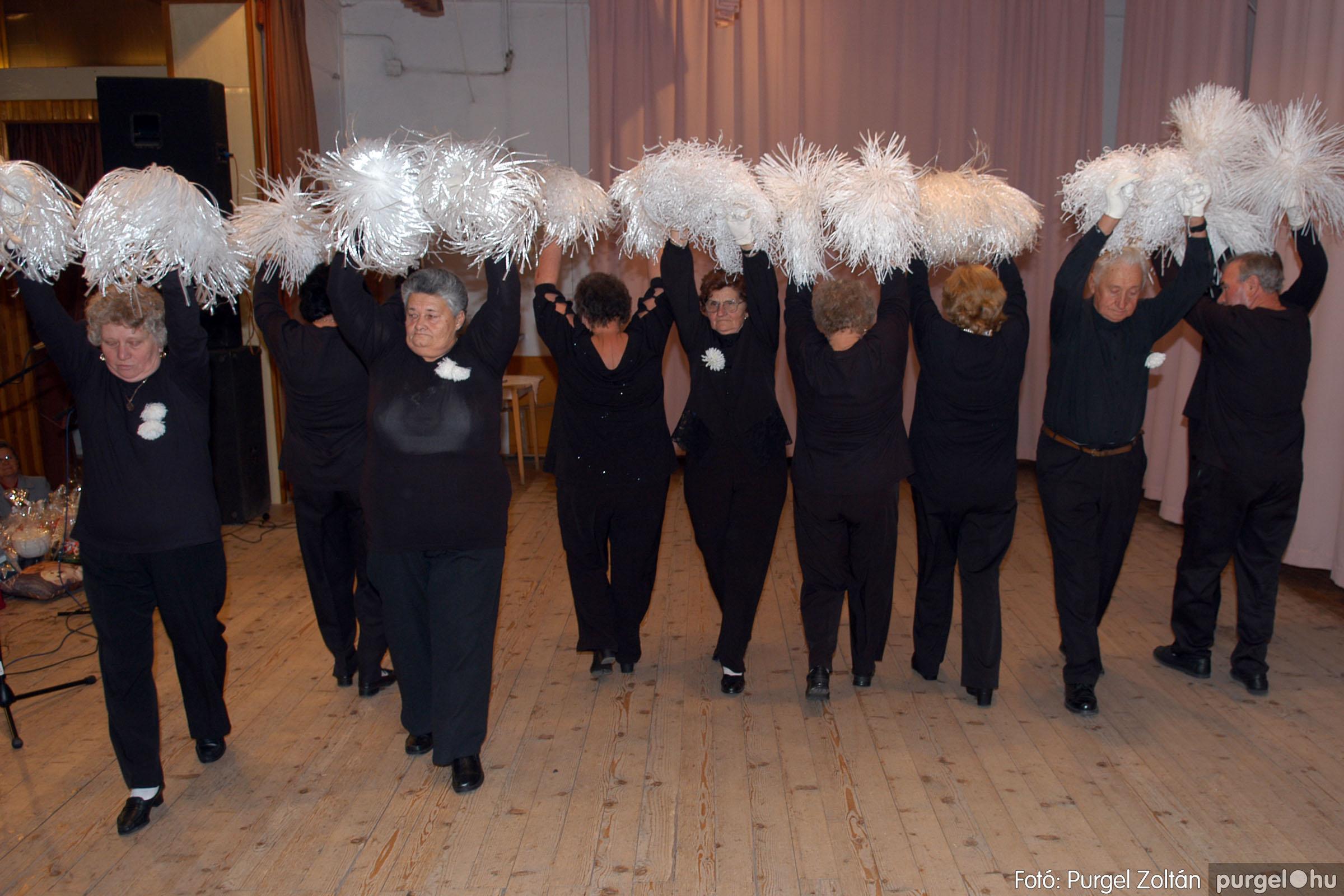 2007.11.10. 041 Szép Öregkor Nyugdíjas Klub bál - Fotó:PURGEL ZOLTÁN© DSC_0047q.jpg
