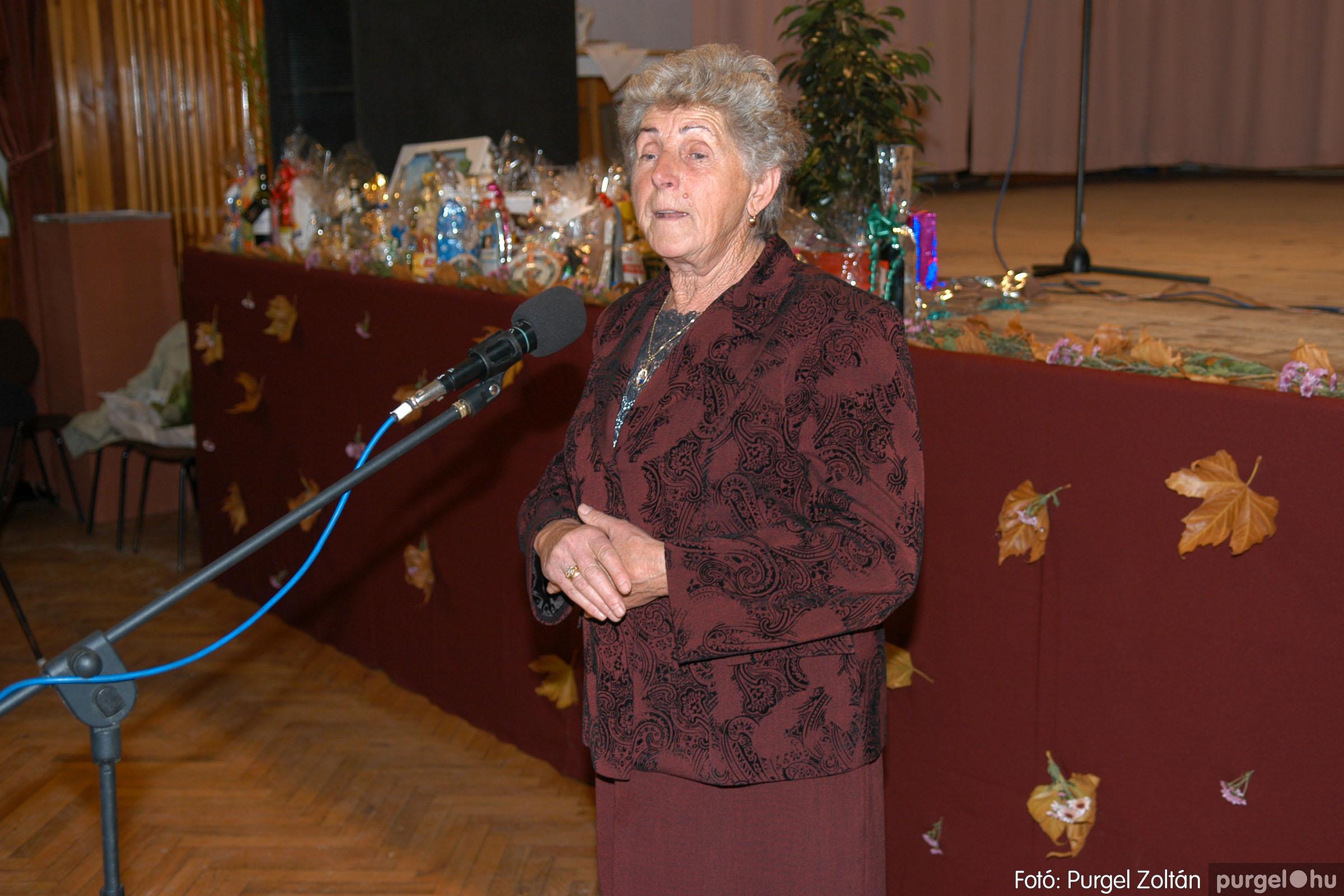 2007.11.10. 012 Szép Öregkor Nyugdíjas Klub bál - Fotó:PURGEL ZOLTÁN© DSC_0017q.jpg
