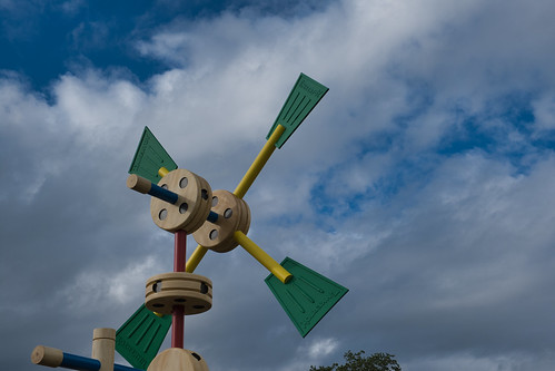 Tinker Toy Windmill