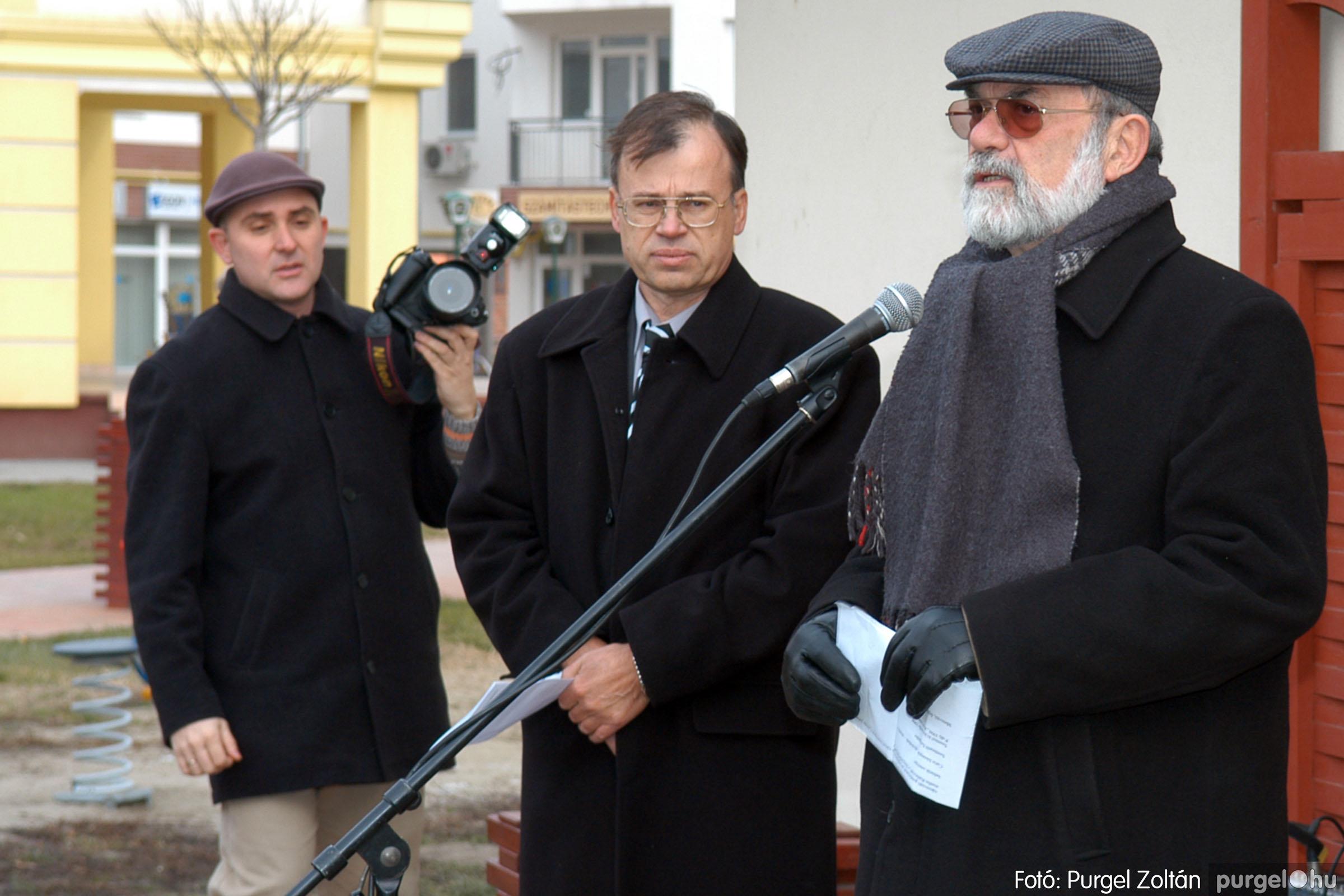 2007.11.30. 005 Rózsa Gábor tér avatása Szentesen - Fotó:PURGEL ZOLTÁN© DSC_0264q.jpg