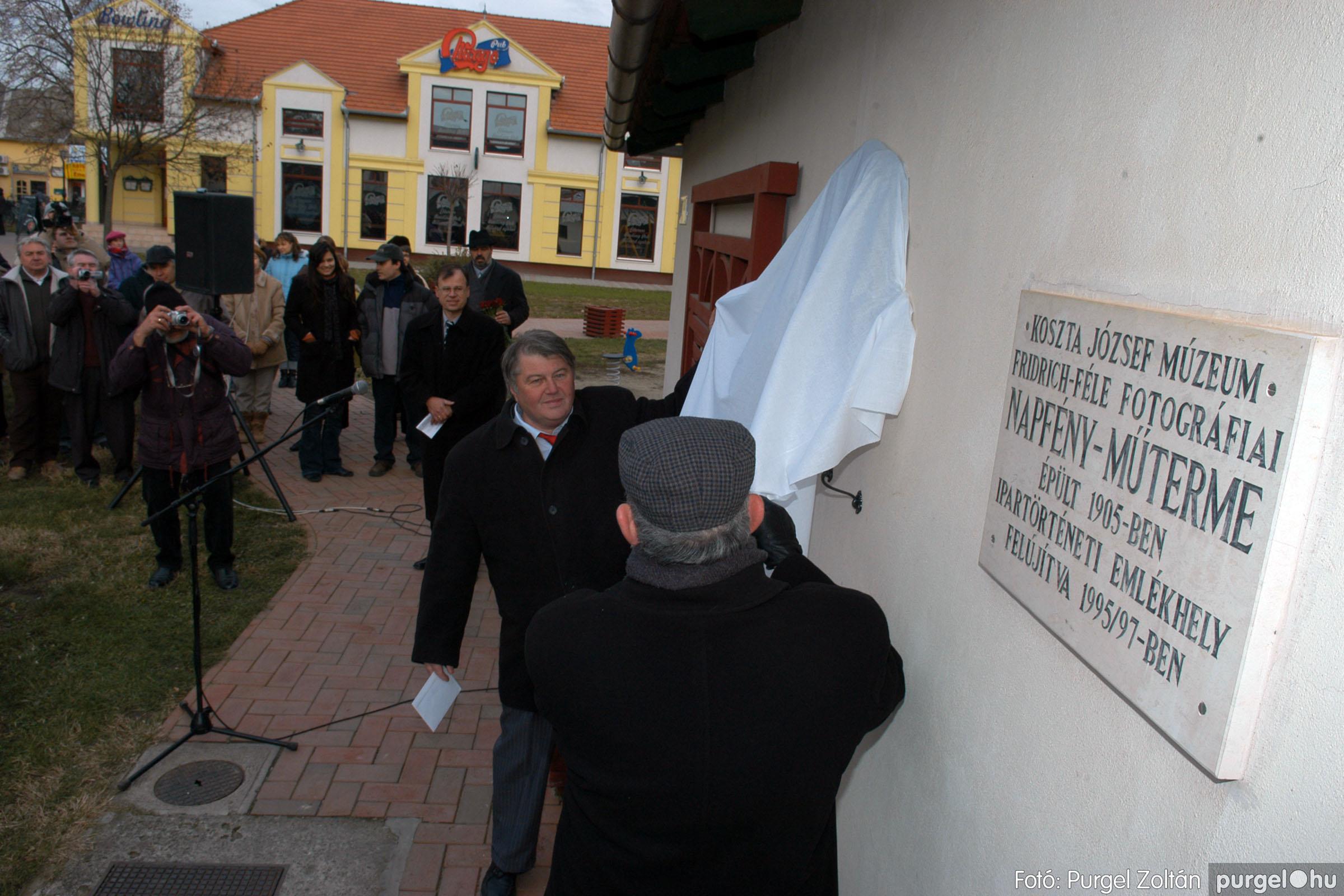 2007.11.30. 016 Rózsa Gábor tér avatása Szentesen - Fotó:PURGEL ZOLTÁN© DSC_0275q.jpg