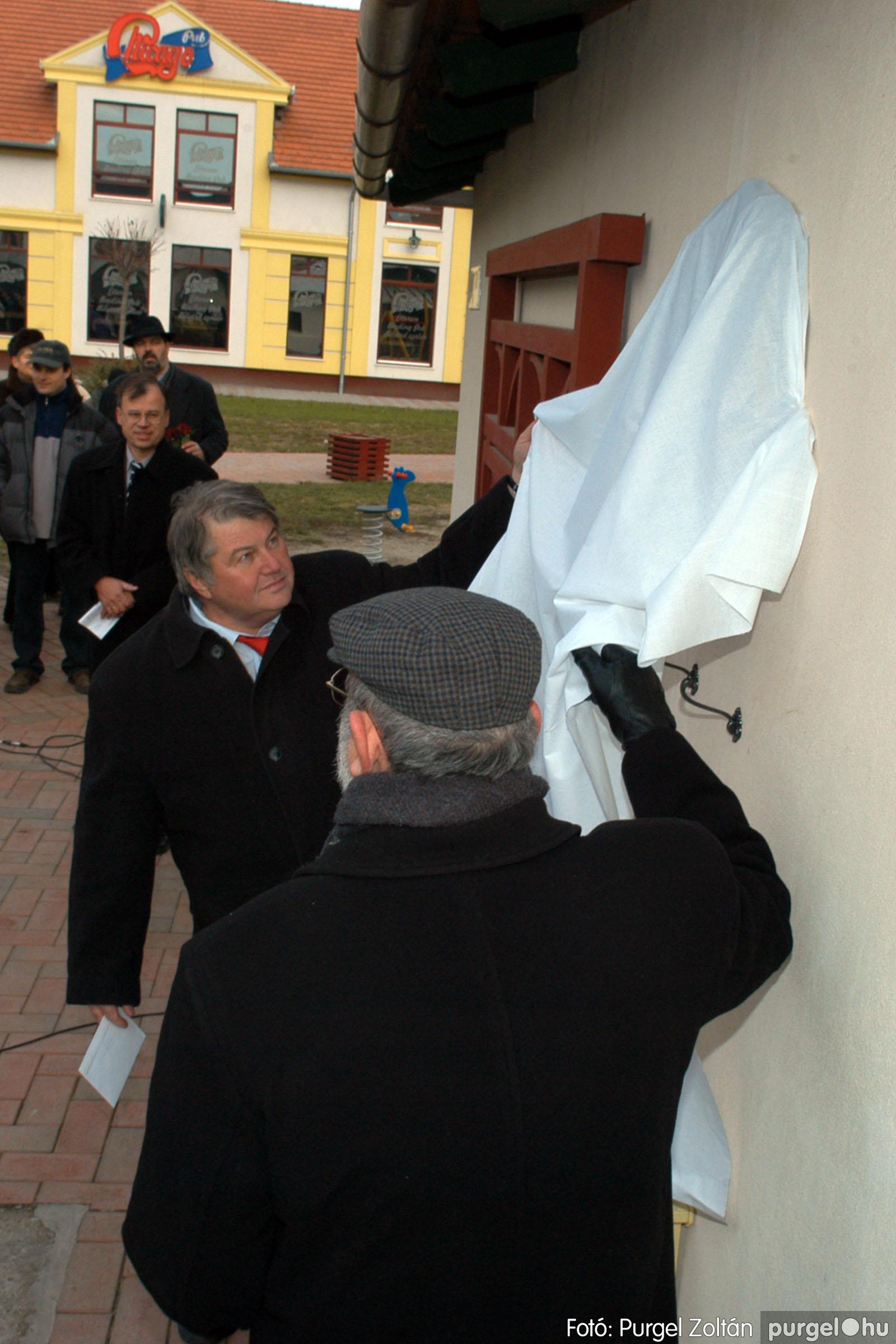2007.11.30. 015 Rózsa Gábor tér avatása Szentesen - Fotó:PURGEL ZOLTÁN© DSC_0274q.jpg