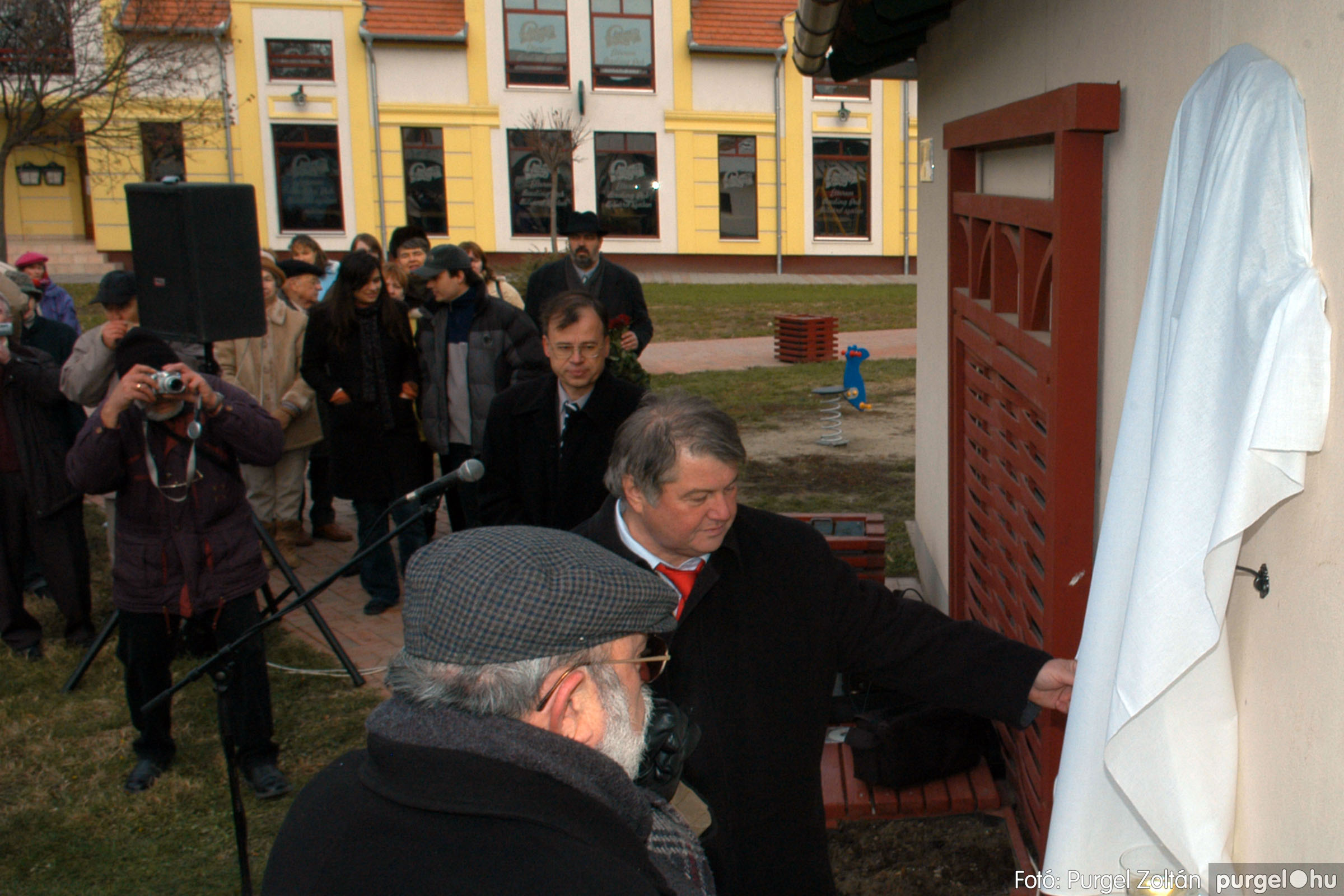 2007.11.30. 014 Rózsa Gábor tér avatása Szentesen - Fotó:PURGEL ZOLTÁN© DSC_0273q.jpg