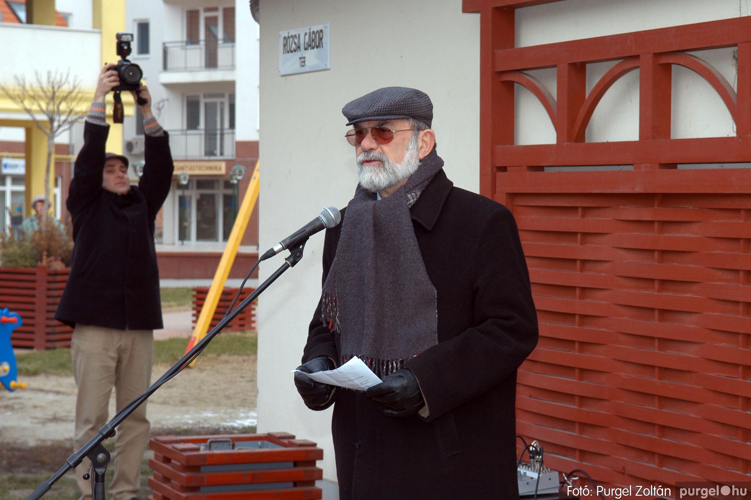 2007.11.30. 006 Rózsa Gábor tér avatása Szentesen - Fotó:PURGEL ZOLTÁN© DSC_0265q.jpg