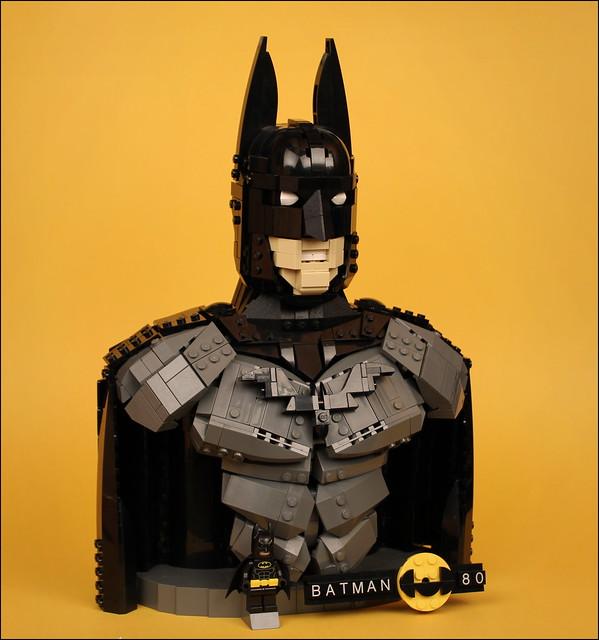 LEGO Batman Bust
