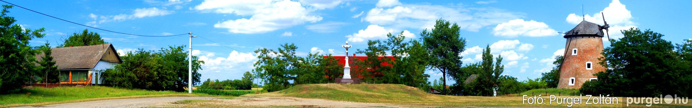040 Örök pillanatok fotókiállításom képei - Szélmalom panoráma · Windmill panorama - Fotó:PURGEL ZOLTÁN©.jpg