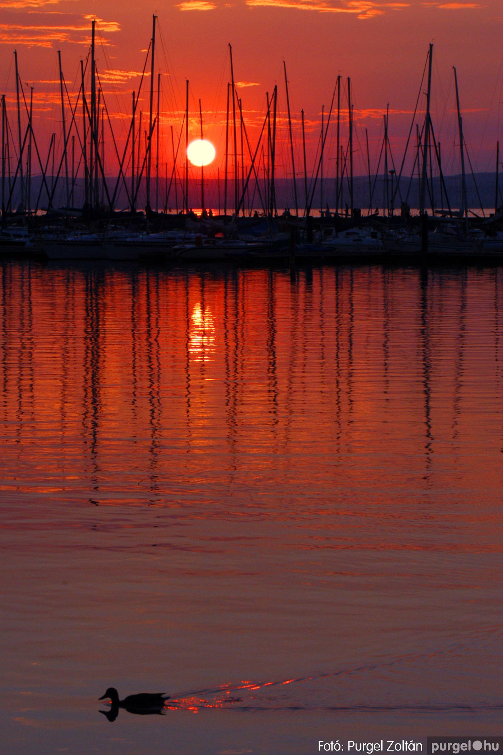 036 Örök pillanatok fotókiállításom képei - Balatoni napnyugta · Sunset of Balaton - Fotó:PURGEL ZOLTÁN©.jpg