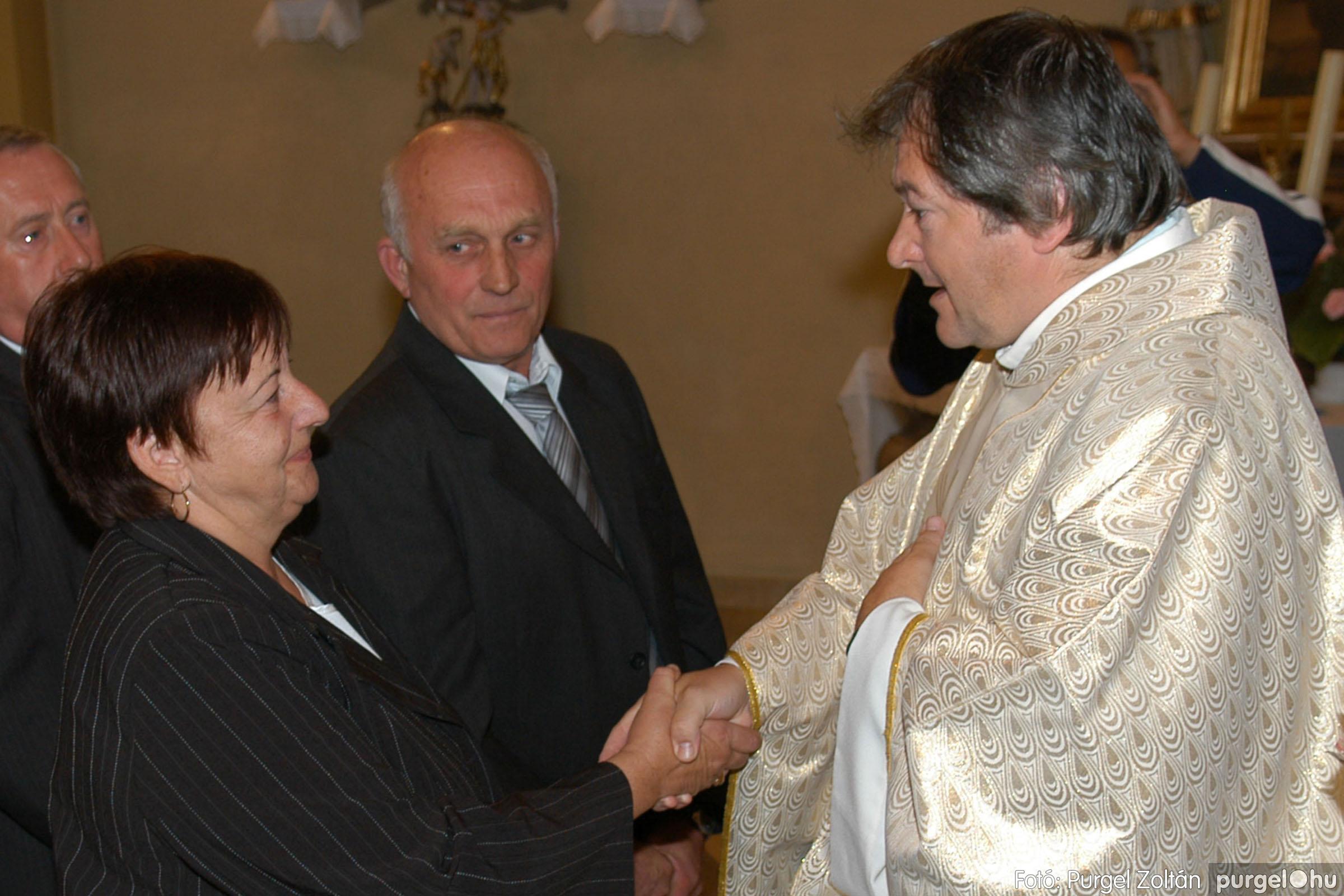 2007.09.30. 085 Kisboldogasszony Templom házassági évfordulók - Fotó:PURGEL ZOLTÁN© DSC_0205q.jpg