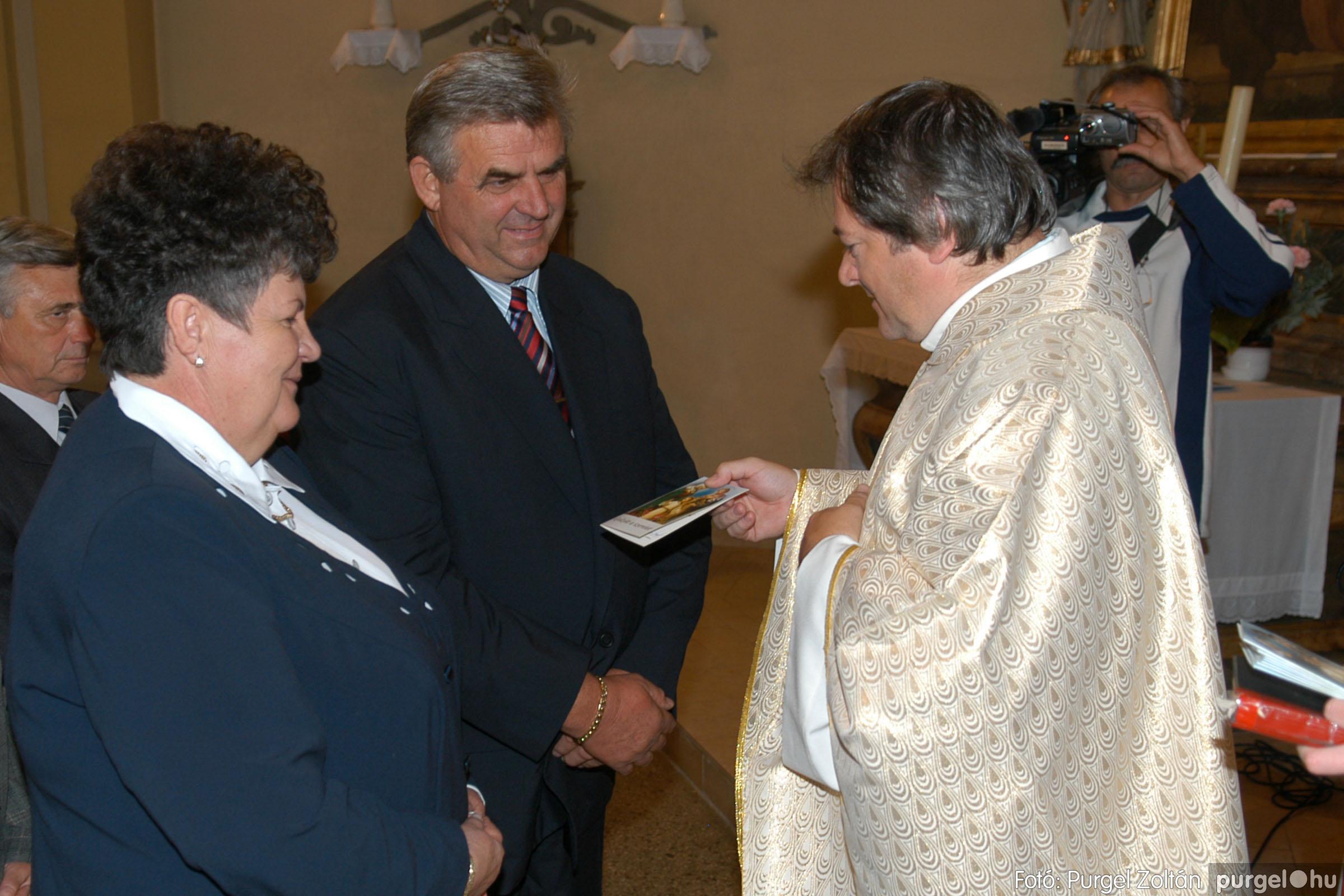 2007.09.30. 065 Kisboldogasszony Templom házassági évfordulók - Fotó:PURGEL ZOLTÁN© DSC_0185q.jpg