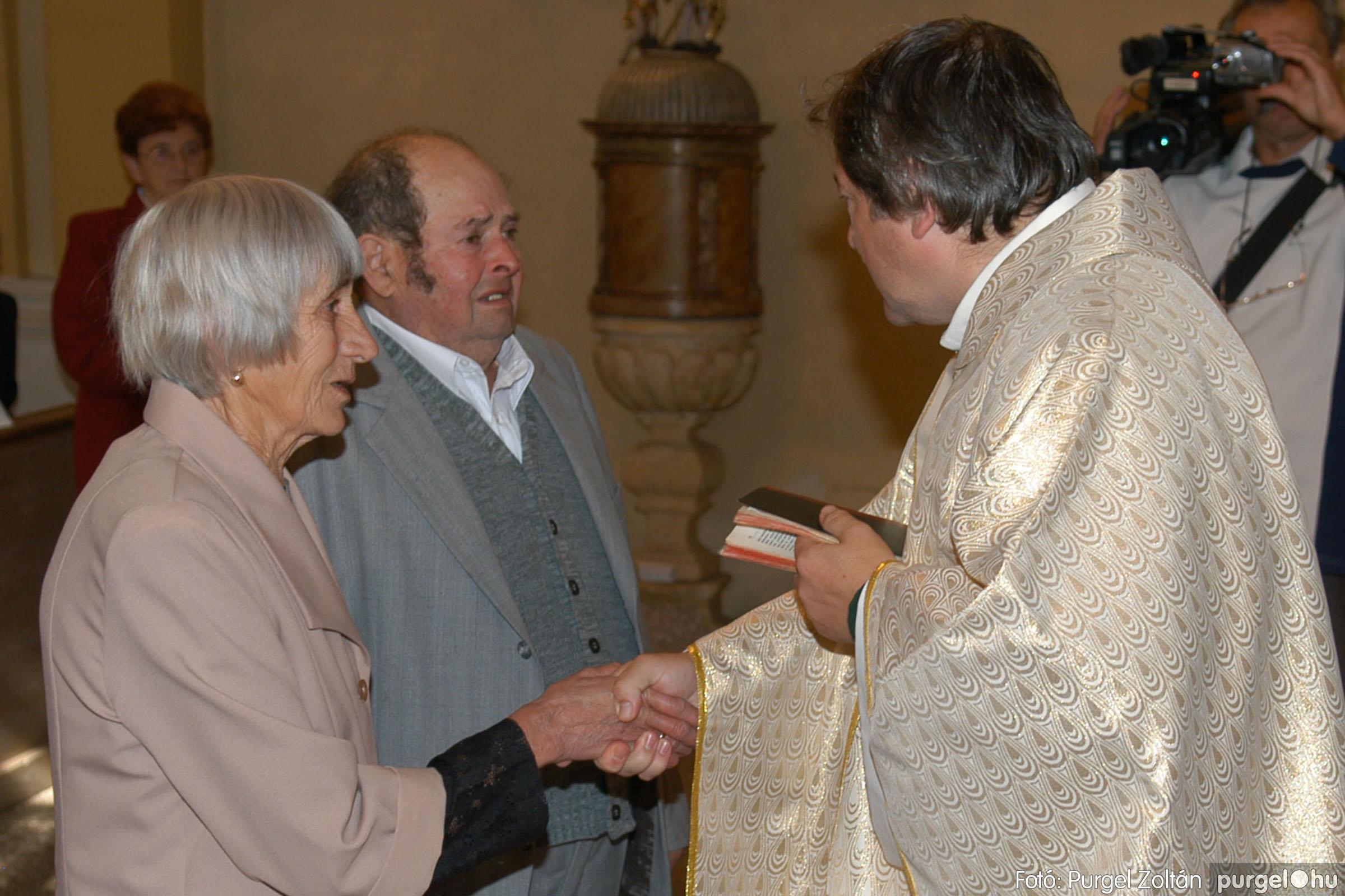 2007.09.30. 046 Kisboldogasszony Templom házassági évfordulók - Fotó:PURGEL ZOLTÁN© DSC_0158q.jpg