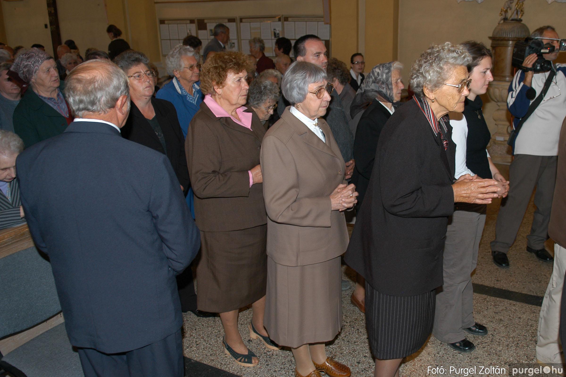 2007.09.30. 017 Kisboldogasszony Templom házassági évfordulók - Fotó:PURGEL ZOLTÁN© DSC_0129q.jpg