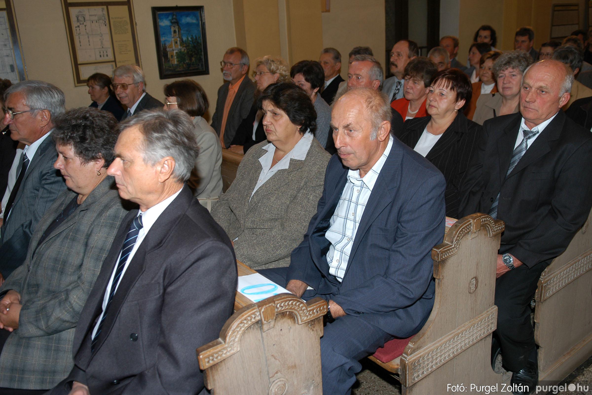 2007.09.30. 009 Kisboldogasszony Templom házassági évfordulók - Fotó:PURGEL ZOLTÁN© DSC_0098q.jpg