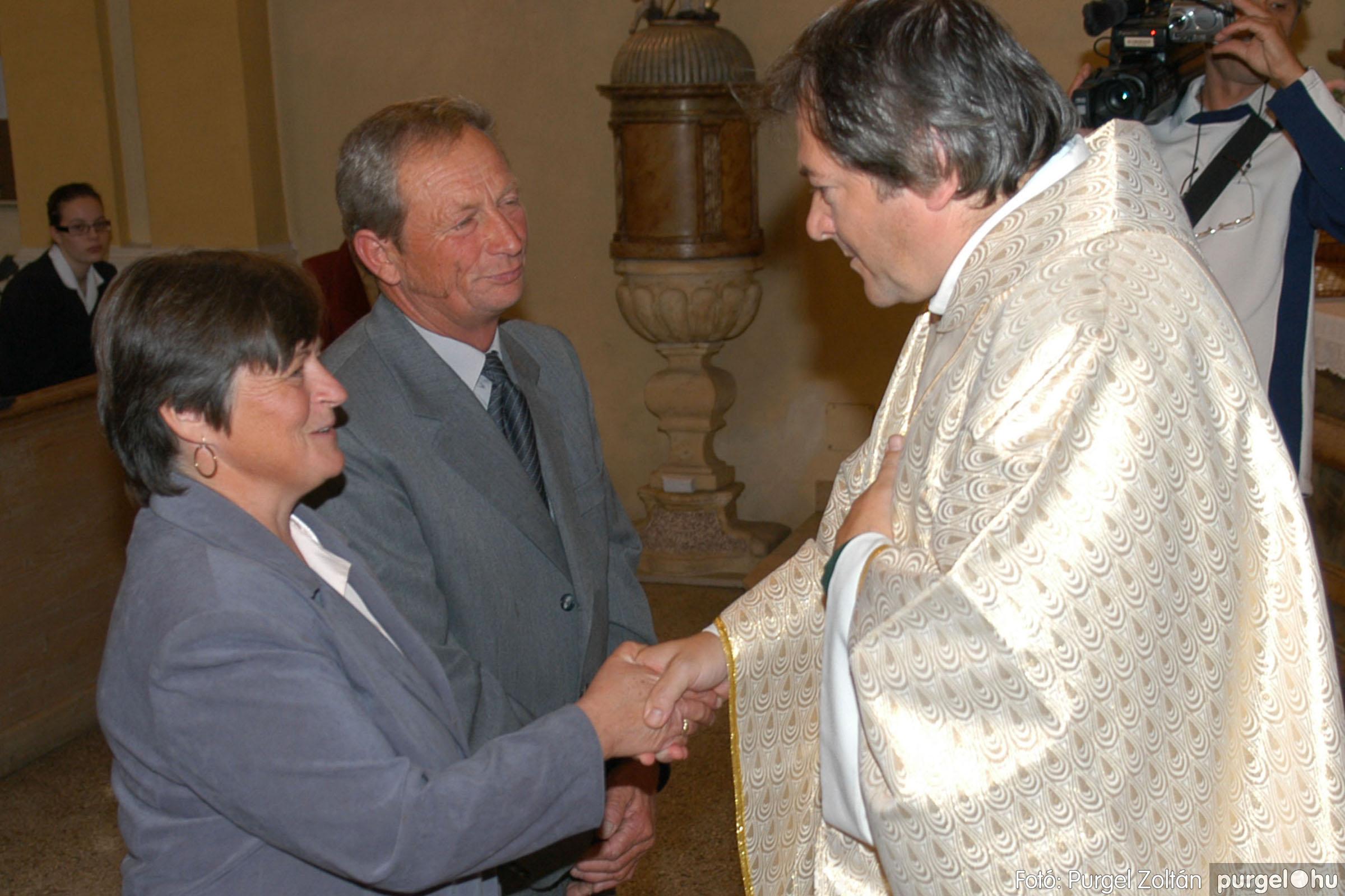2007.09.30. 107 Kisboldogasszony Templom házassági évfordulók - Fotó:PURGEL ZOLTÁN© DSC_0228q.jpg