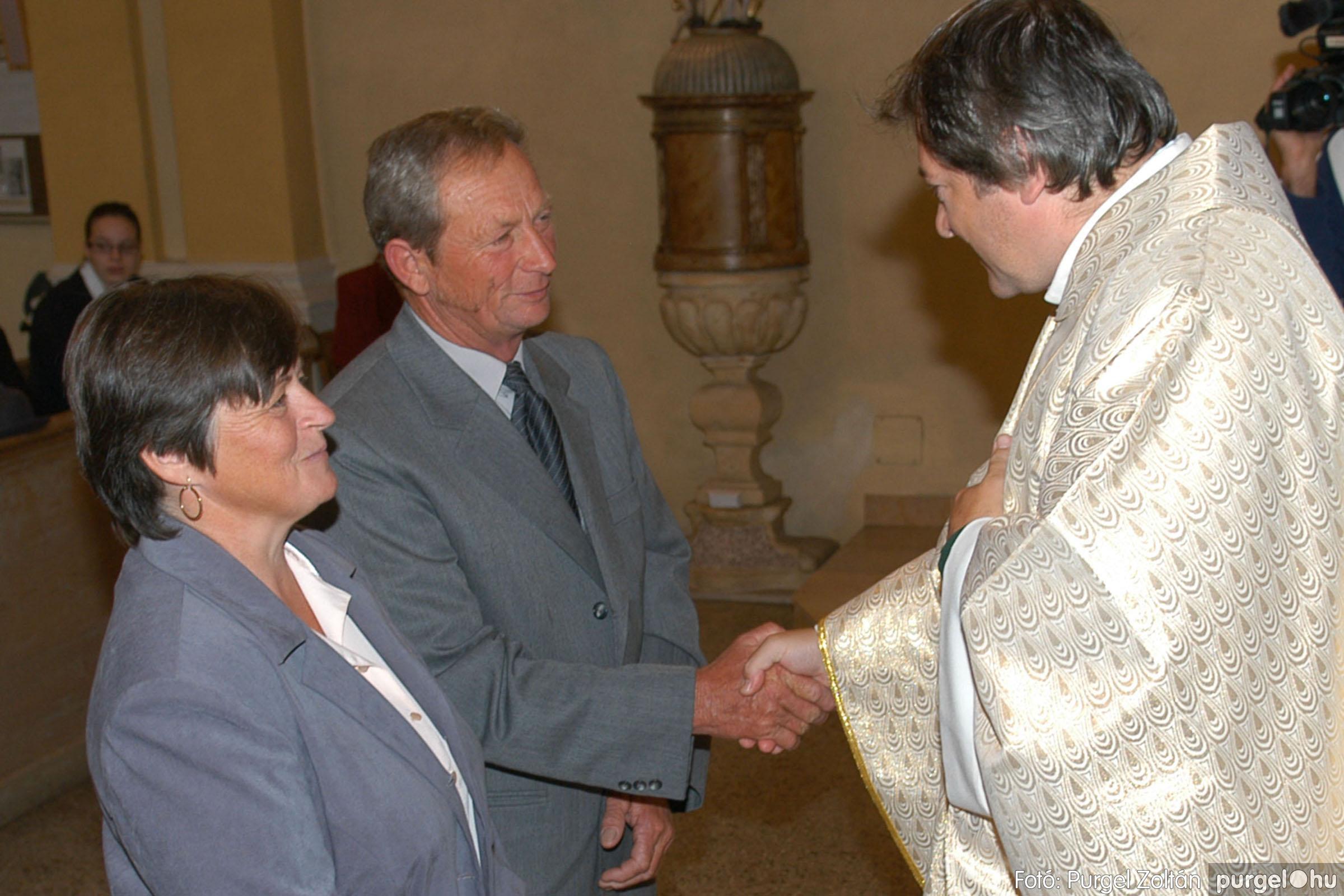 2007.09.30. 106 Kisboldogasszony Templom házassági évfordulók - Fotó:PURGEL ZOLTÁN© DSC_0227q.jpg