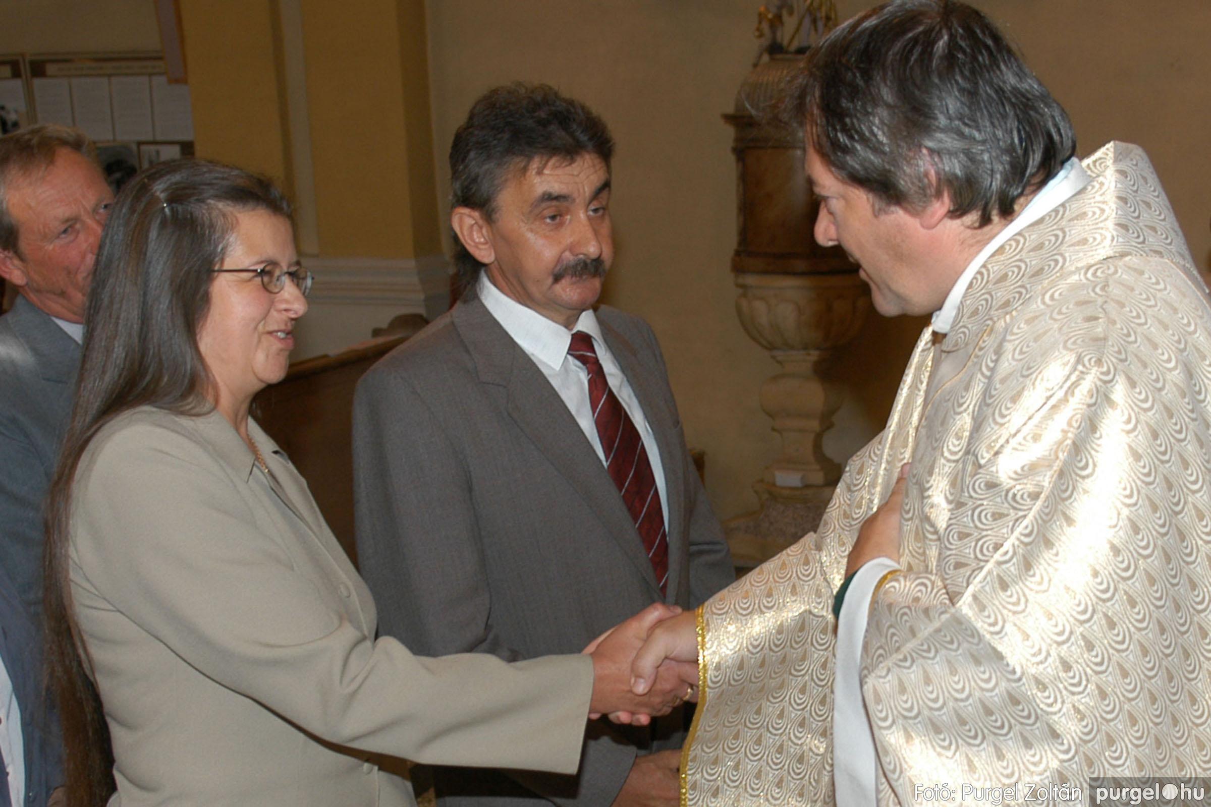 2007.09.30. 105 Kisboldogasszony Templom házassági évfordulók - Fotó:PURGEL ZOLTÁN© DSC_0226q.jpg