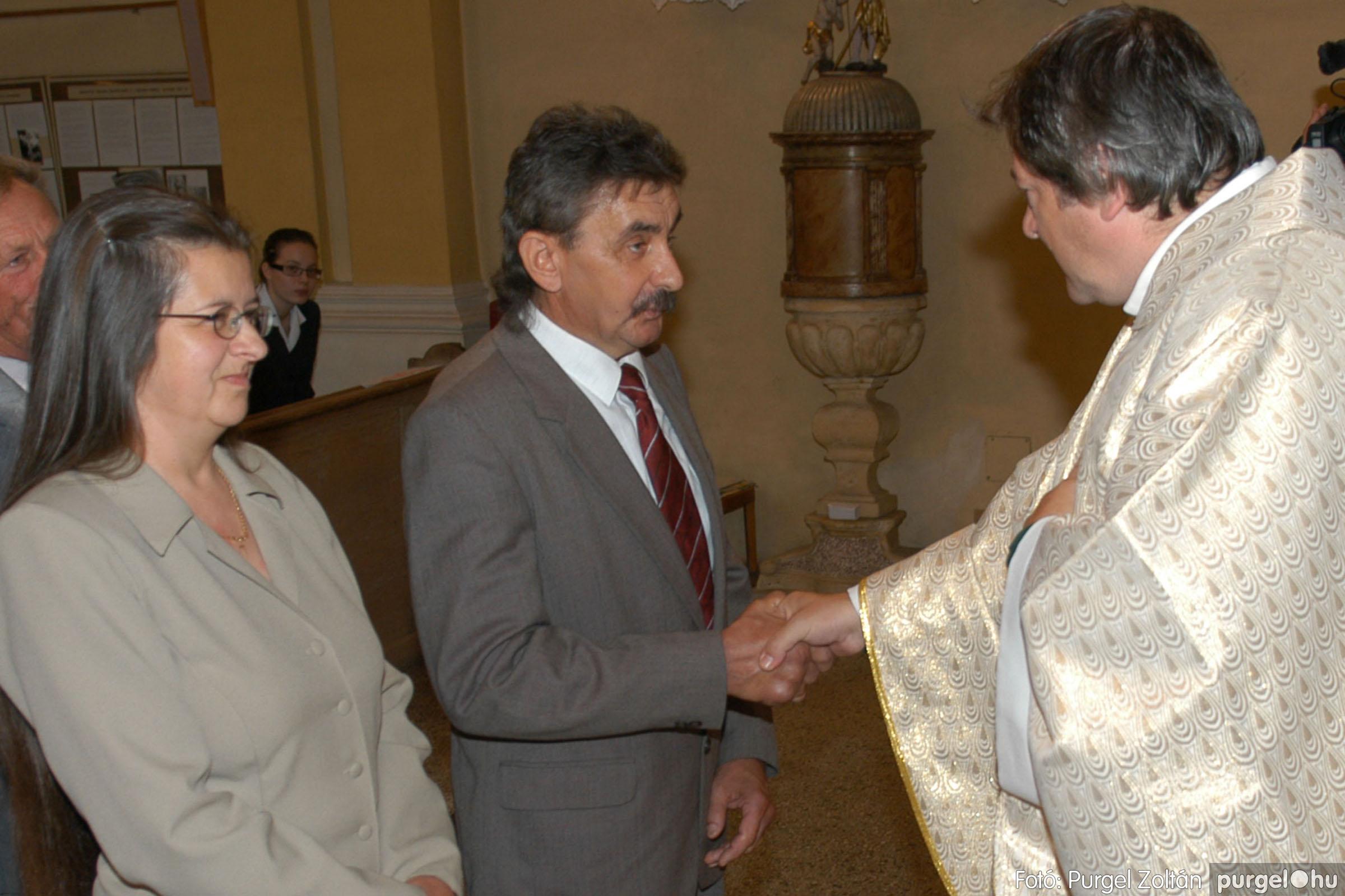 2007.09.30. 104 Kisboldogasszony Templom házassági évfordulók - Fotó:PURGEL ZOLTÁN© DSC_0225q.jpg