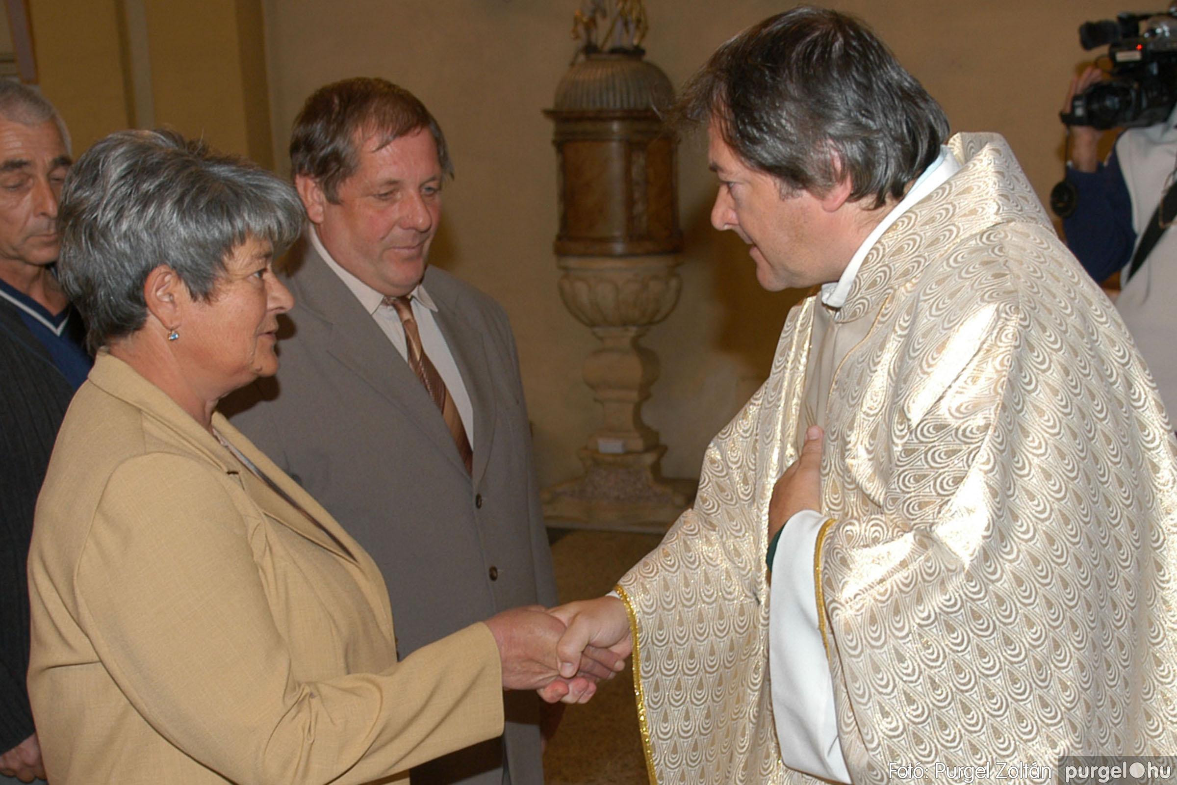 2007.09.30. 100 Kisboldogasszony Templom házassági évfordulók - Fotó:PURGEL ZOLTÁN© DSC_0221q.jpg