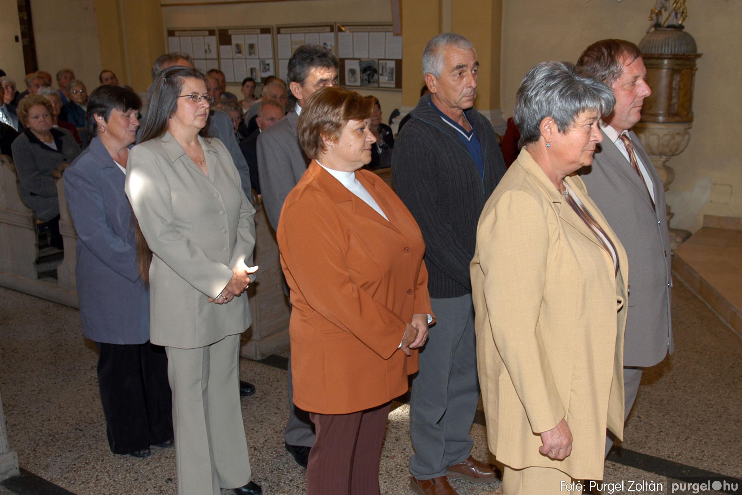 2007.09.30. 098 Kisboldogasszony Templom házassági évfordulók - Fotó:PURGEL ZOLTÁN© DSC_0219q.jpg