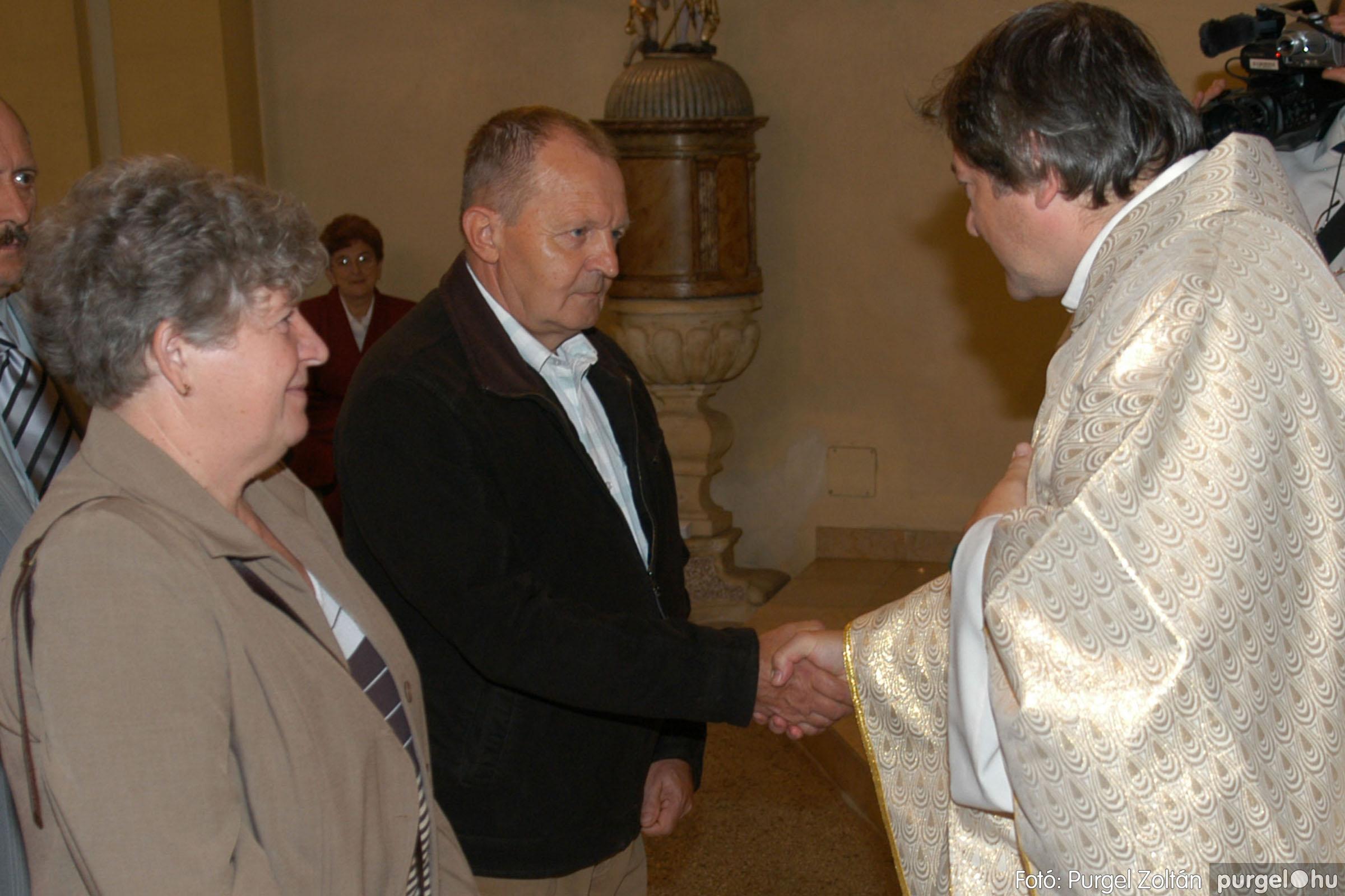 2007.09.30. 091 Kisboldogasszony Templom házassági évfordulók - Fotó:PURGEL ZOLTÁN© DSC_0212q.jpg