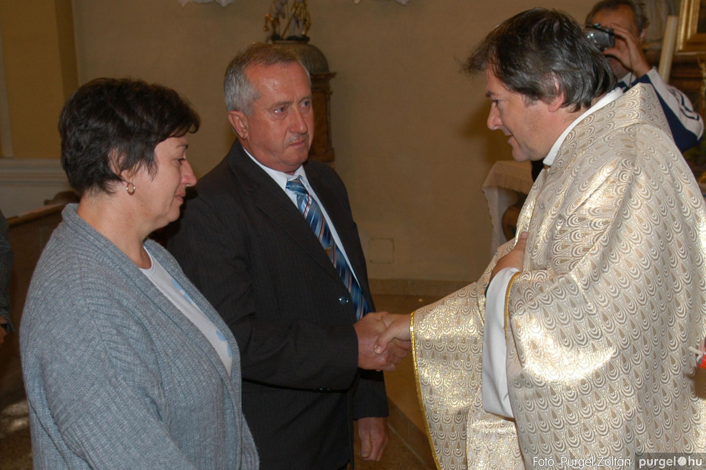 2007.09.30. 086 Kisboldogasszony Templom házassági évfordulók - Fotó:PURGEL ZOLTÁN© DSC_0207q.jpg