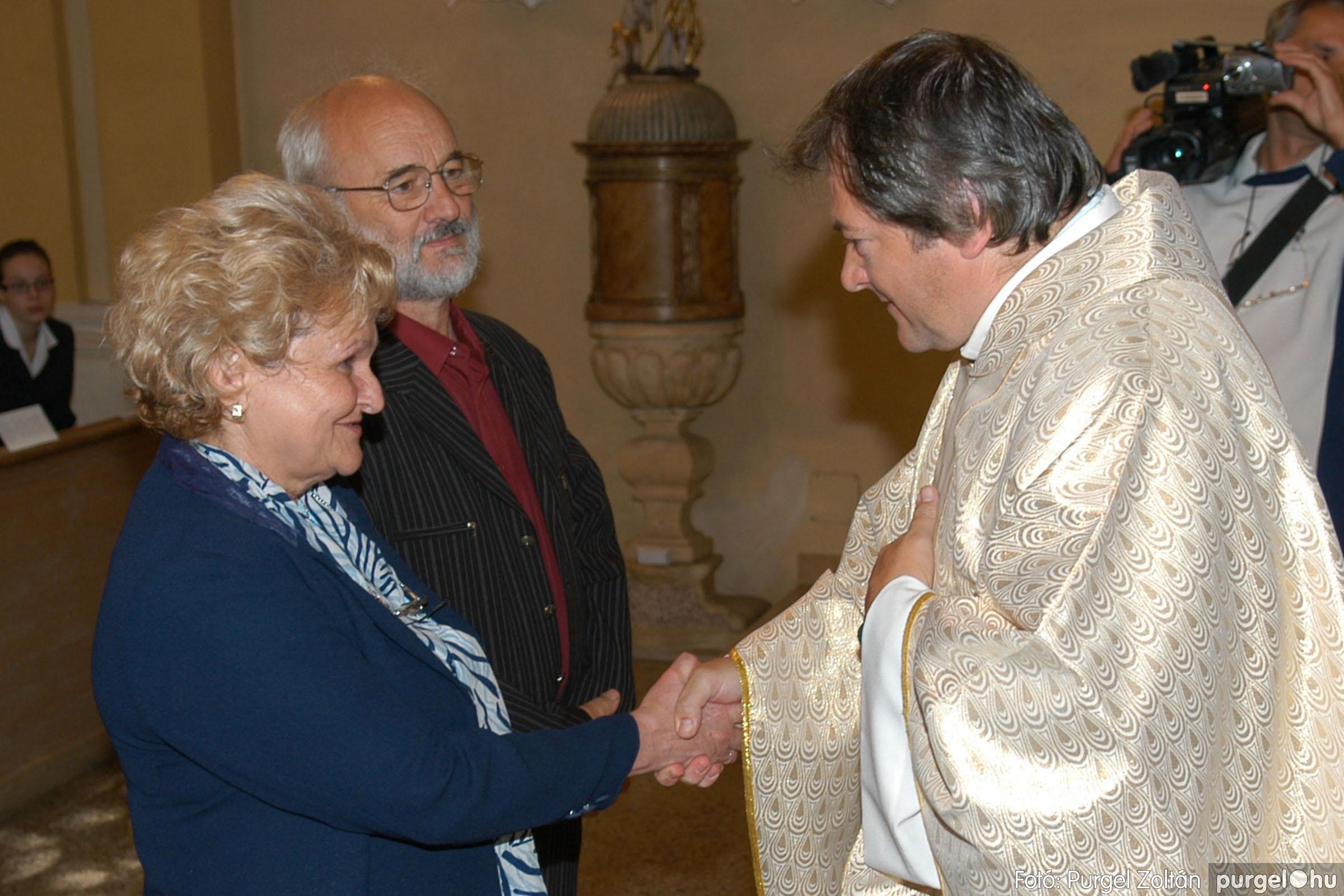 2007.09.30. 081 Kisboldogasszony Templom házassági évfordulók - Fotó:PURGEL ZOLTÁN© DSC_0201q.jpg