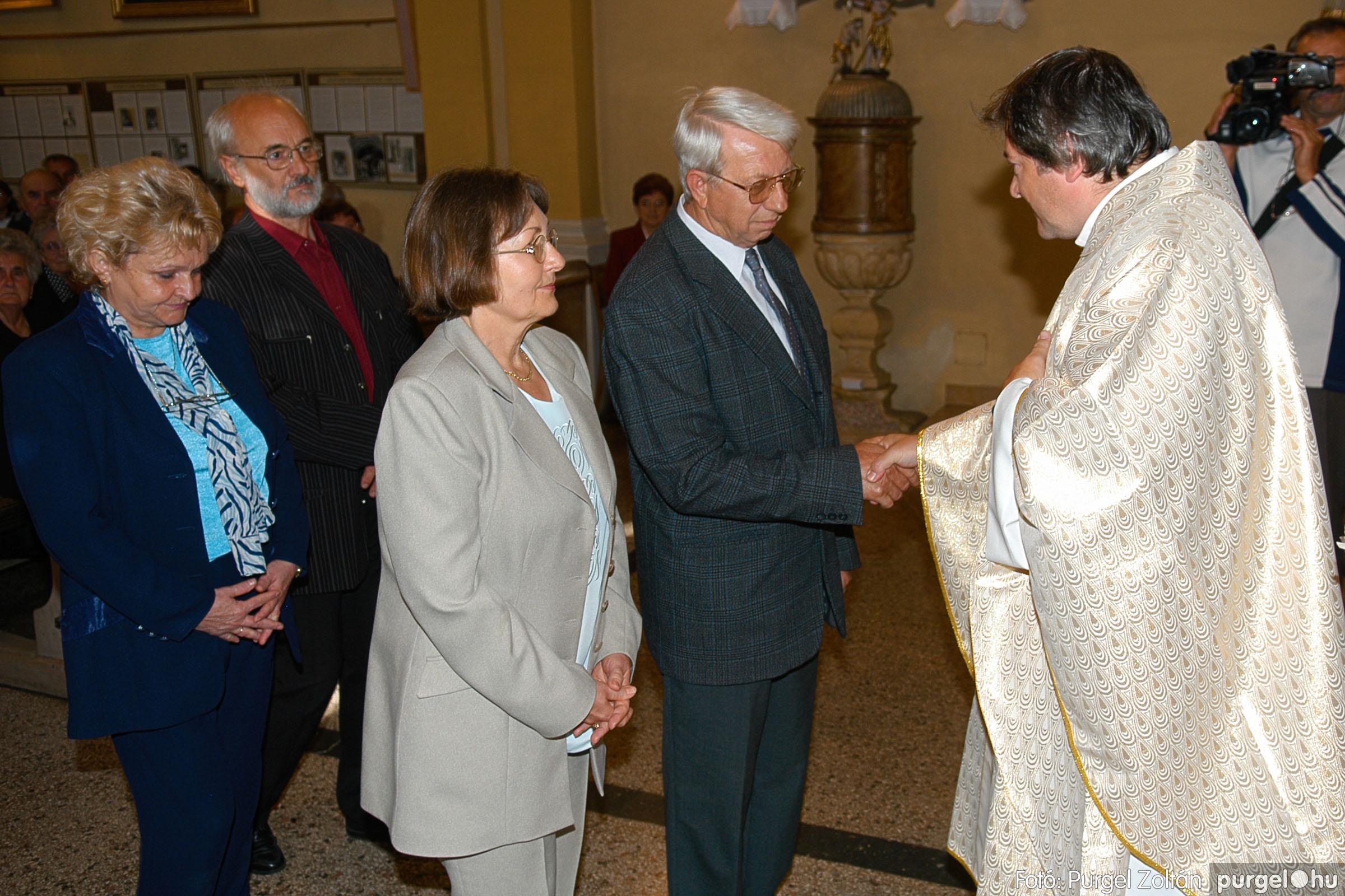 2007.09.30. 078 Kisboldogasszony Templom házassági évfordulók - Fotó:PURGEL ZOLTÁN© DSC_0198q.jpg