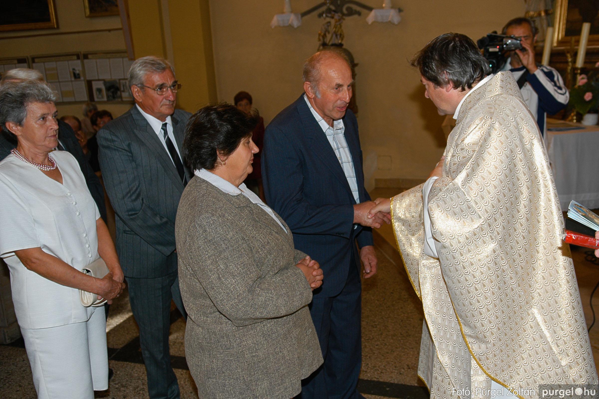 2007.09.30. 074 Kisboldogasszony Templom házassági évfordulók - Fotó:PURGEL ZOLTÁN© DSC_0194q.jpg