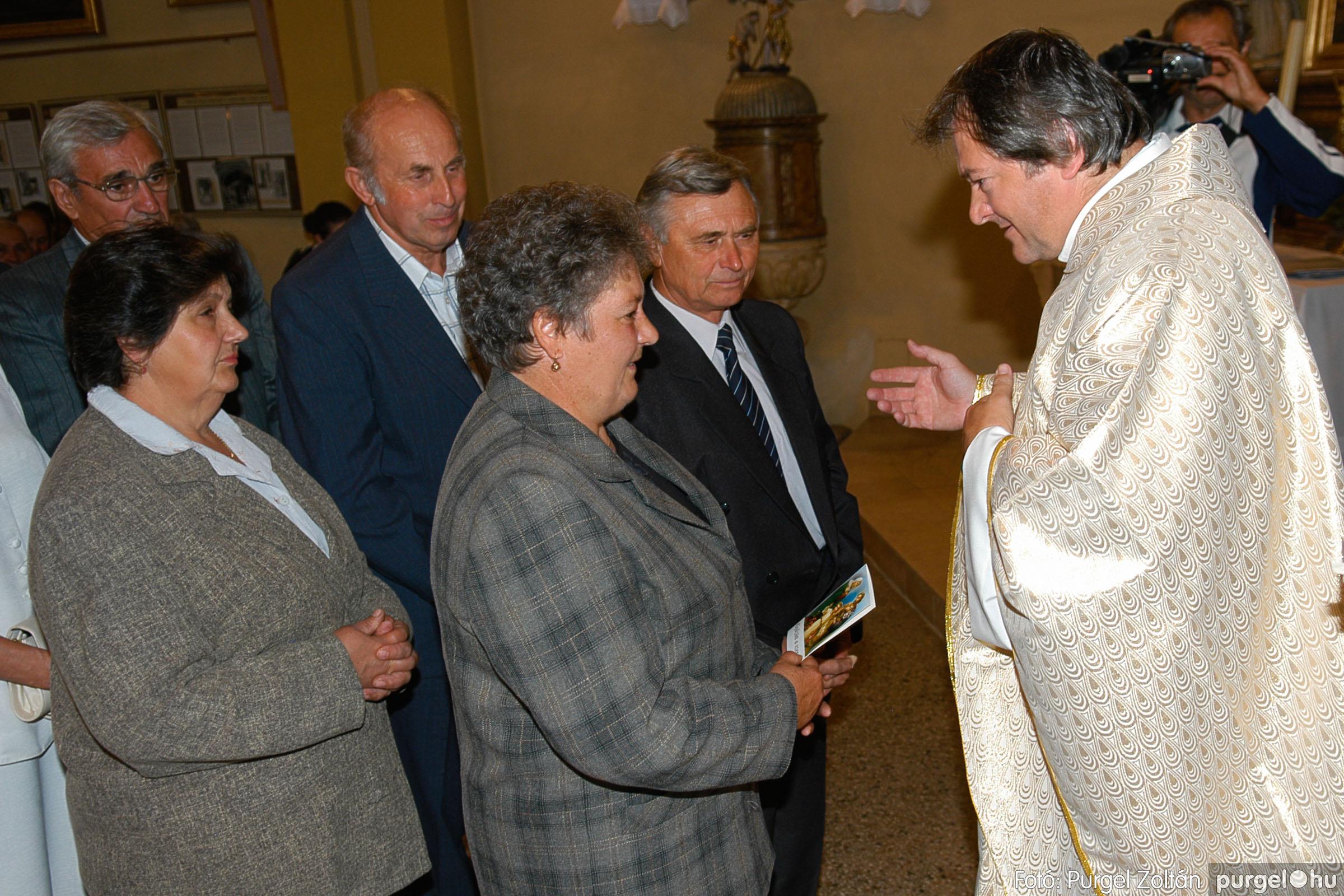 2007.09.30. 073 Kisboldogasszony Templom házassági évfordulók - Fotó:PURGEL ZOLTÁN© DSC_0193q.jpg