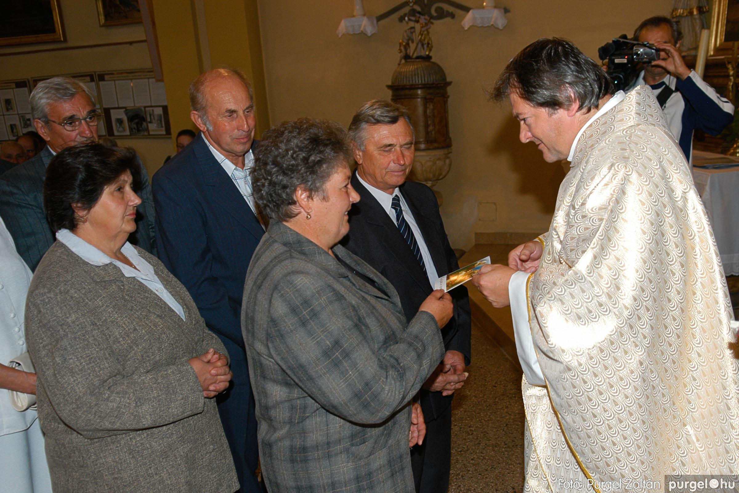 2007.09.30. 072 Kisboldogasszony Templom házassági évfordulók - Fotó:PURGEL ZOLTÁN© DSC_0192q.jpg