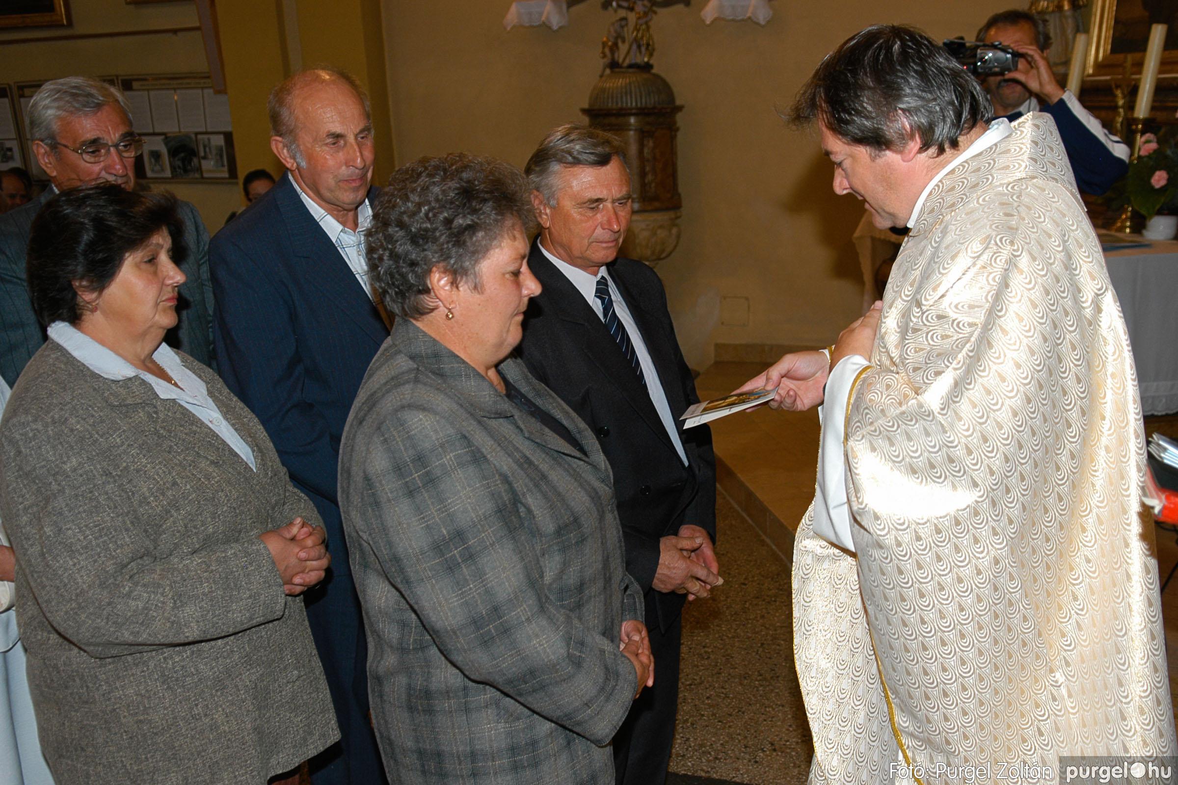 2007.09.30. 071 Kisboldogasszony Templom házassági évfordulók - Fotó:PURGEL ZOLTÁN© DSC_0191q.jpg