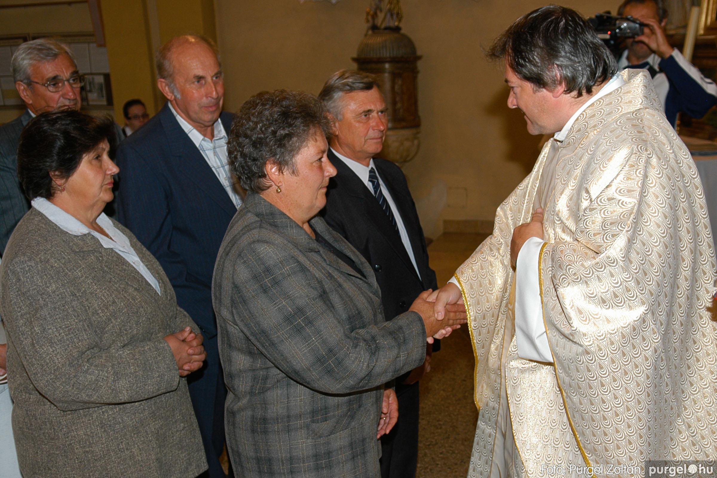 2007.09.30. 070 Kisboldogasszony Templom házassági évfordulók - Fotó:PURGEL ZOLTÁN© DSC_0190q.jpg