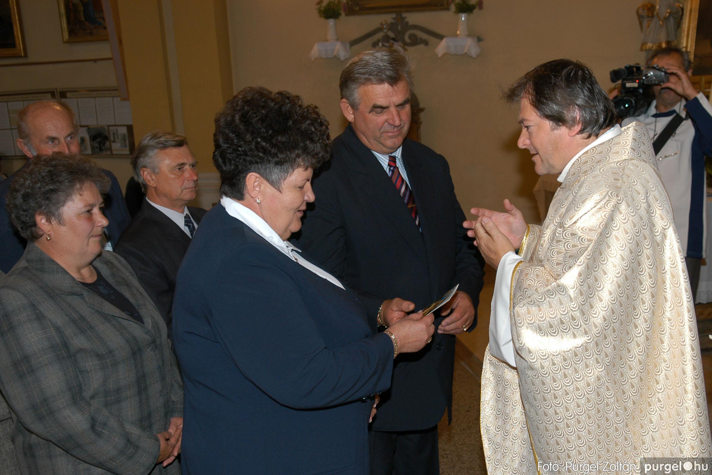 2007.09.30. 067 Kisboldogasszony Templom házassági évfordulók - Fotó:PURGEL ZOLTÁN© DSC_0187q.jpg