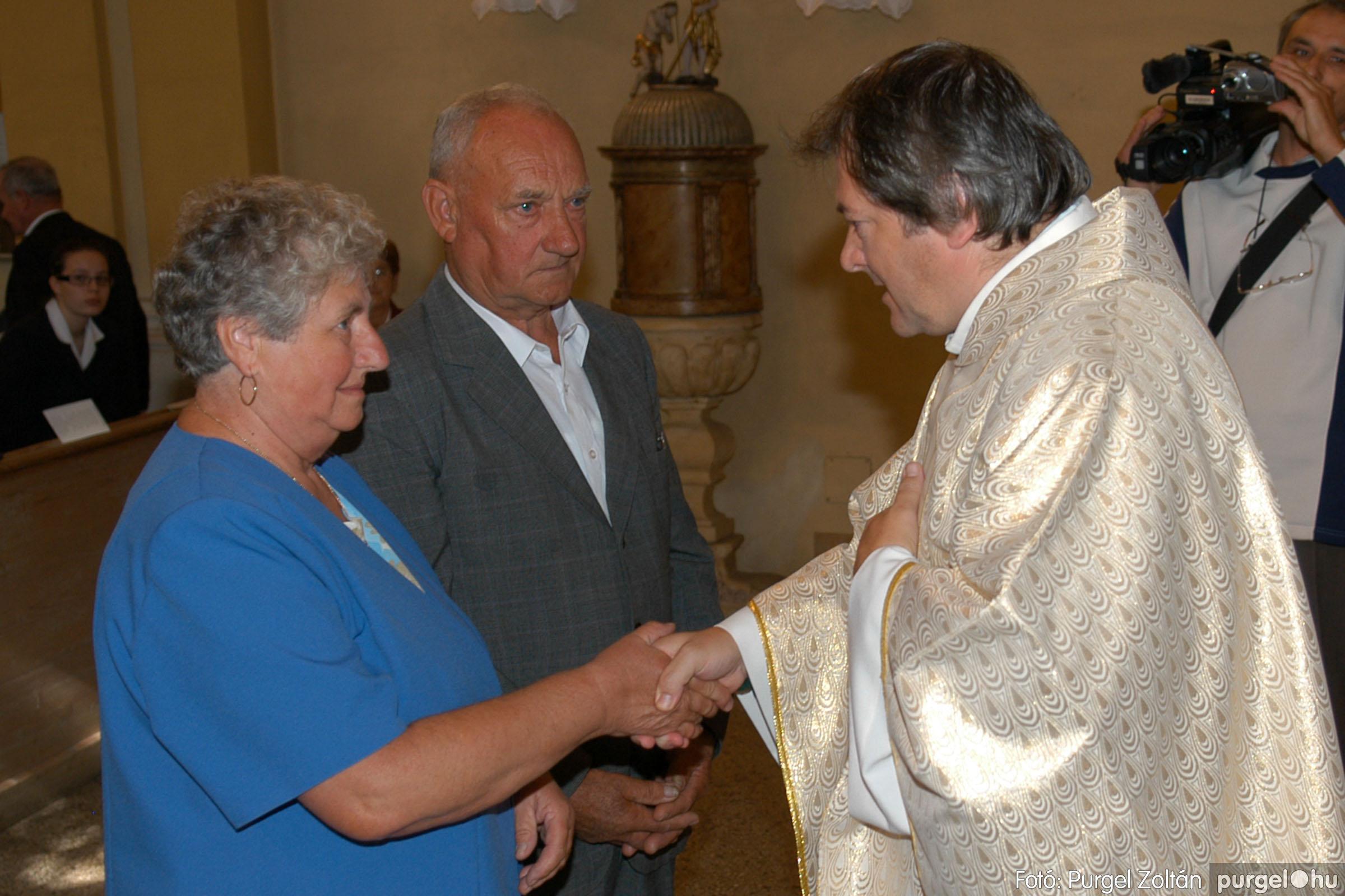 2007.09.30. 060 Kisboldogasszony Templom házassági évfordulók - Fotó:PURGEL ZOLTÁN© DSC_0172q.jpg