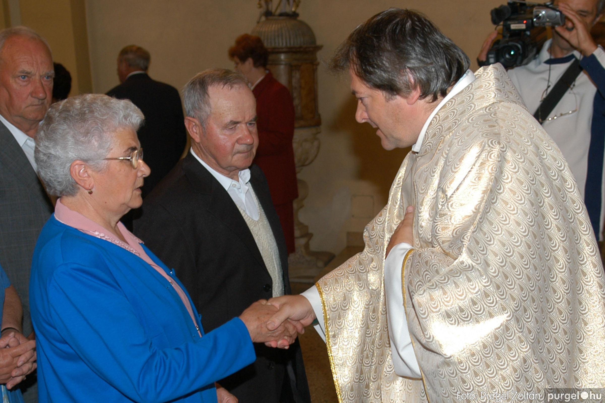 2007.09.30. 058 Kisboldogasszony Templom házassági évfordulók - Fotó:PURGEL ZOLTÁN© DSC_0170q.jpg