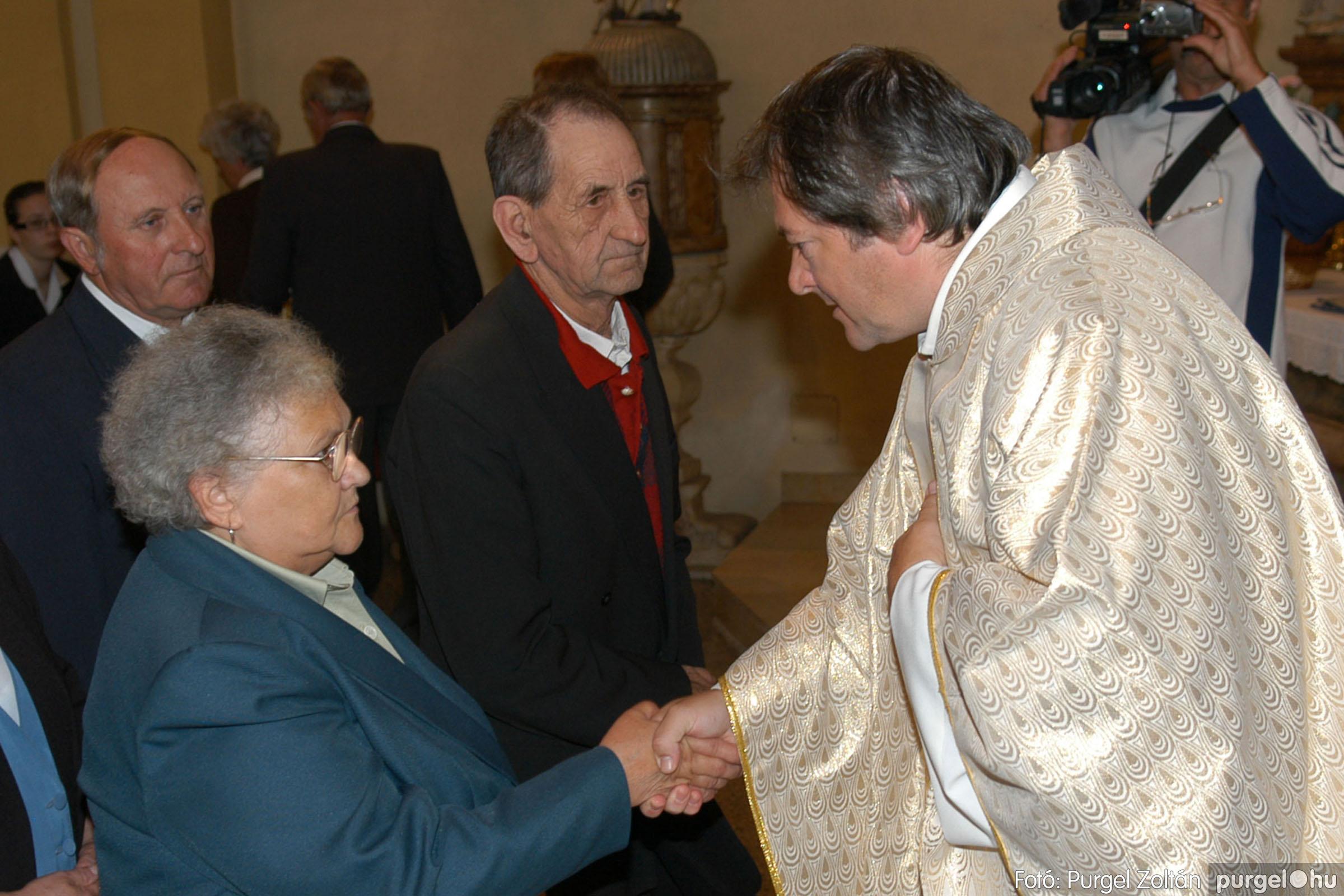 2007.09.30. 054 Kisboldogasszony Templom házassági évfordulók - Fotó:PURGEL ZOLTÁN© DSC_0166q.jpg