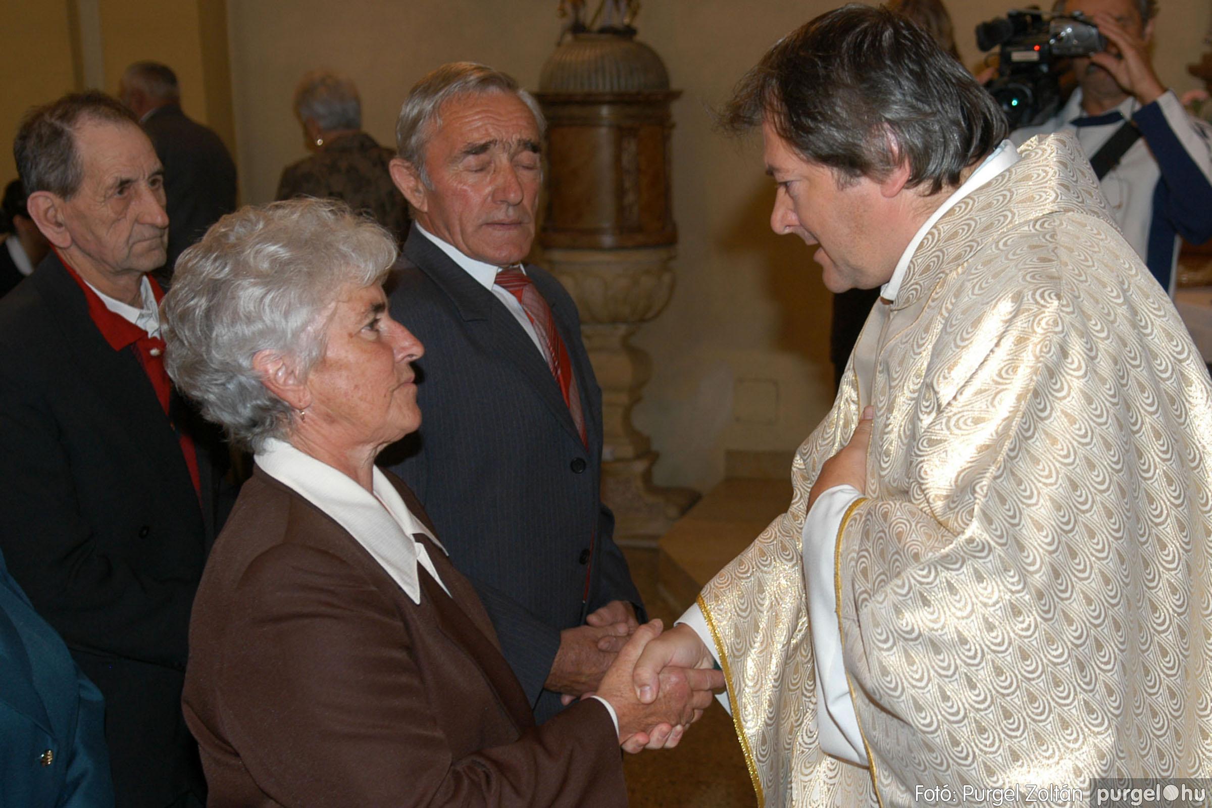 2007.09.30. 052 Kisboldogasszony Templom házassági évfordulók - Fotó:PURGEL ZOLTÁN© DSC_0164q.jpg