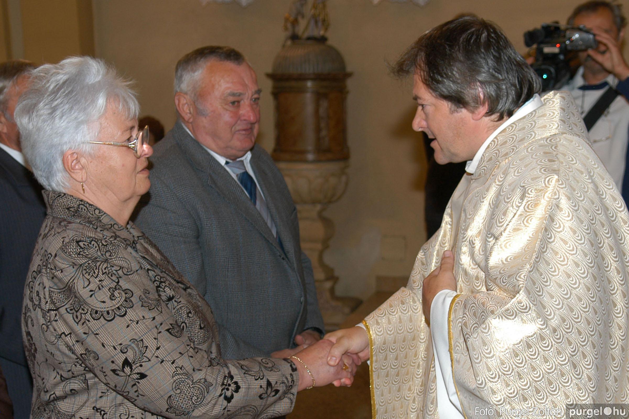 2007.09.30. 050 Kisboldogasszony Templom házassági évfordulók - Fotó:PURGEL ZOLTÁN© DSC_0162q.jpg