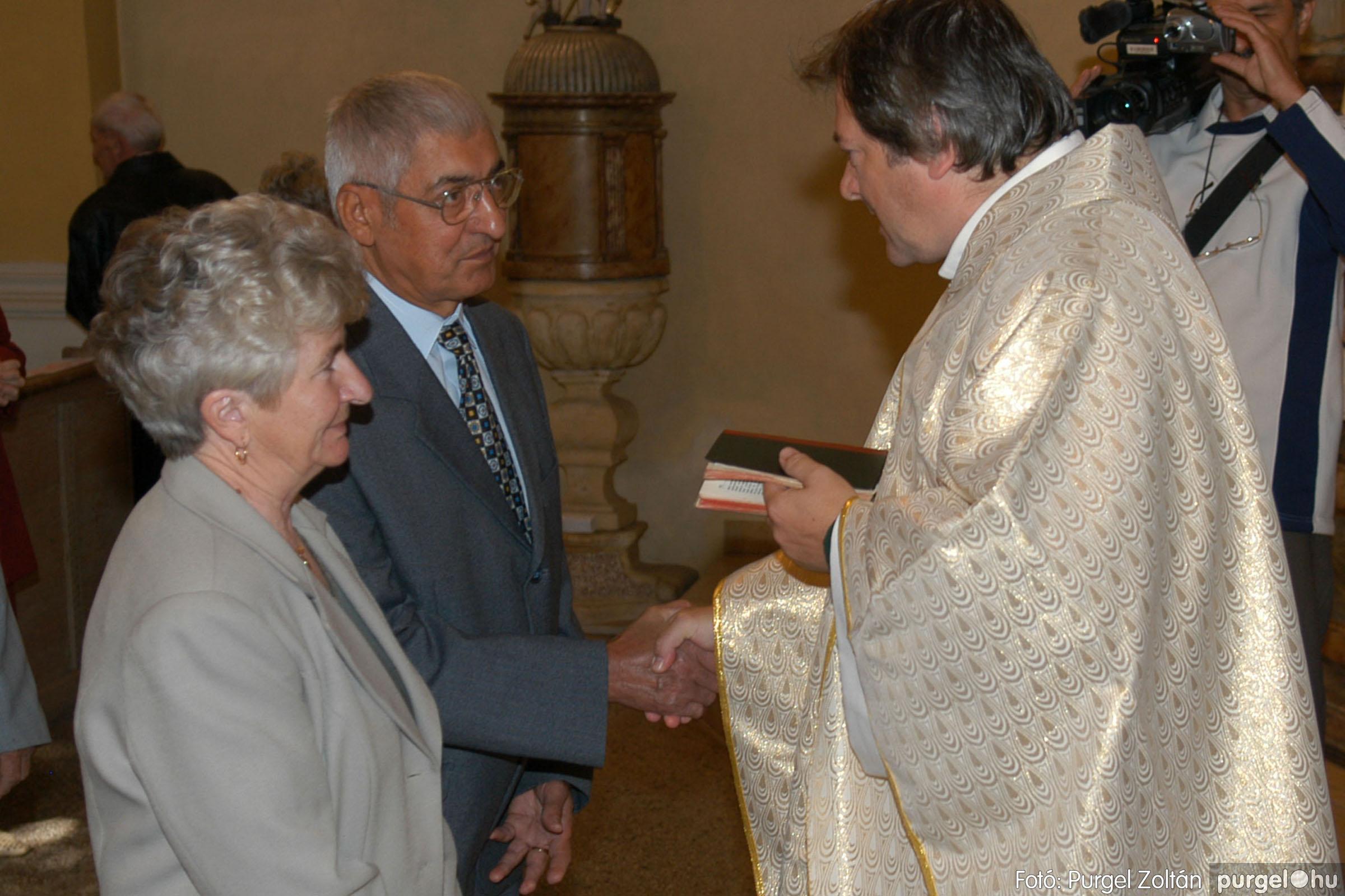 2007.09.30. 043 Kisboldogasszony Templom házassági évfordulók - Fotó:PURGEL ZOLTÁN© DSC_0155q.jpg