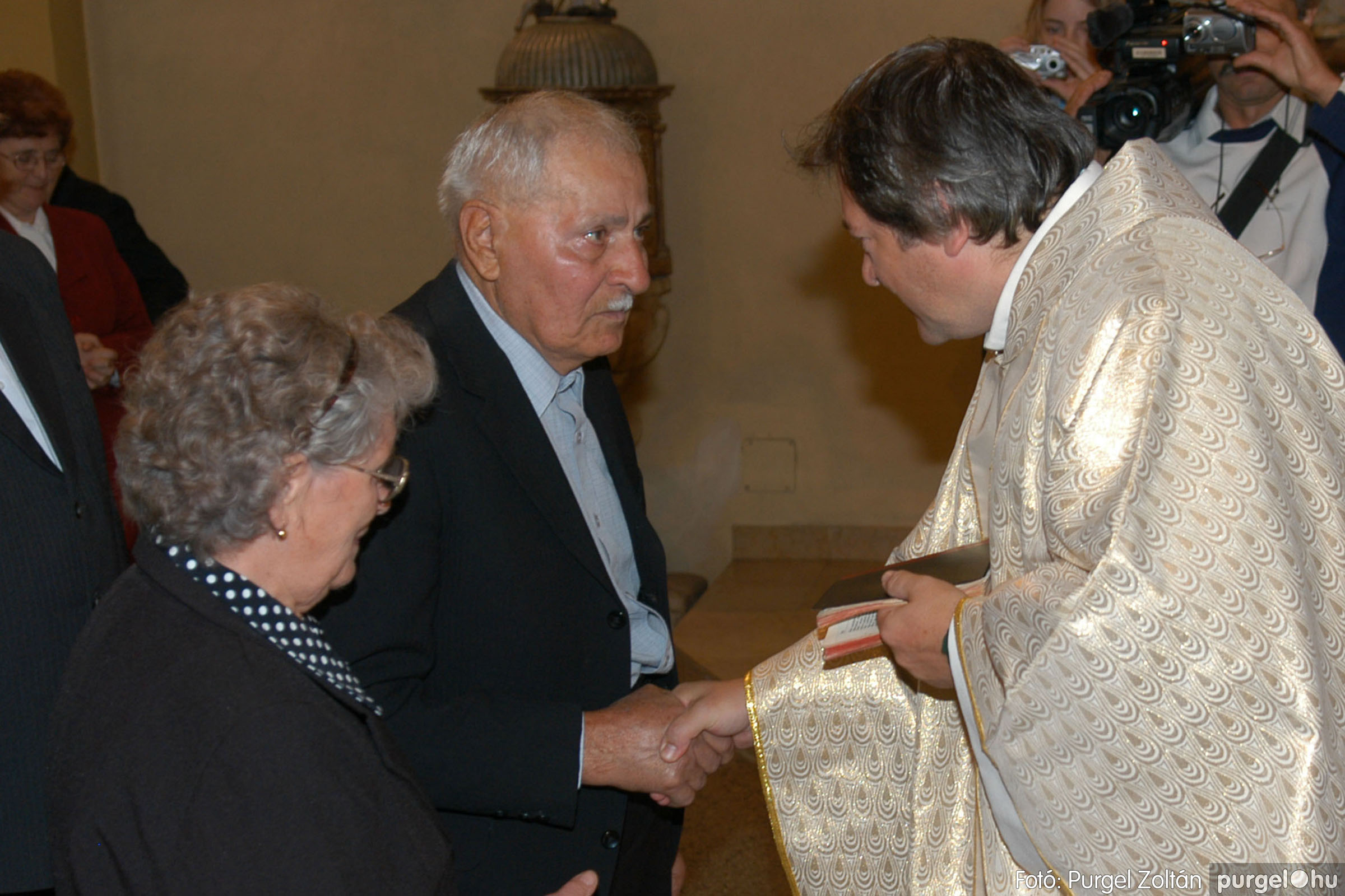 2007.09.30. 035 Kisboldogasszony Templom házassági évfordulók - Fotó:PURGEL ZOLTÁN© DSC_0147q.jpg
