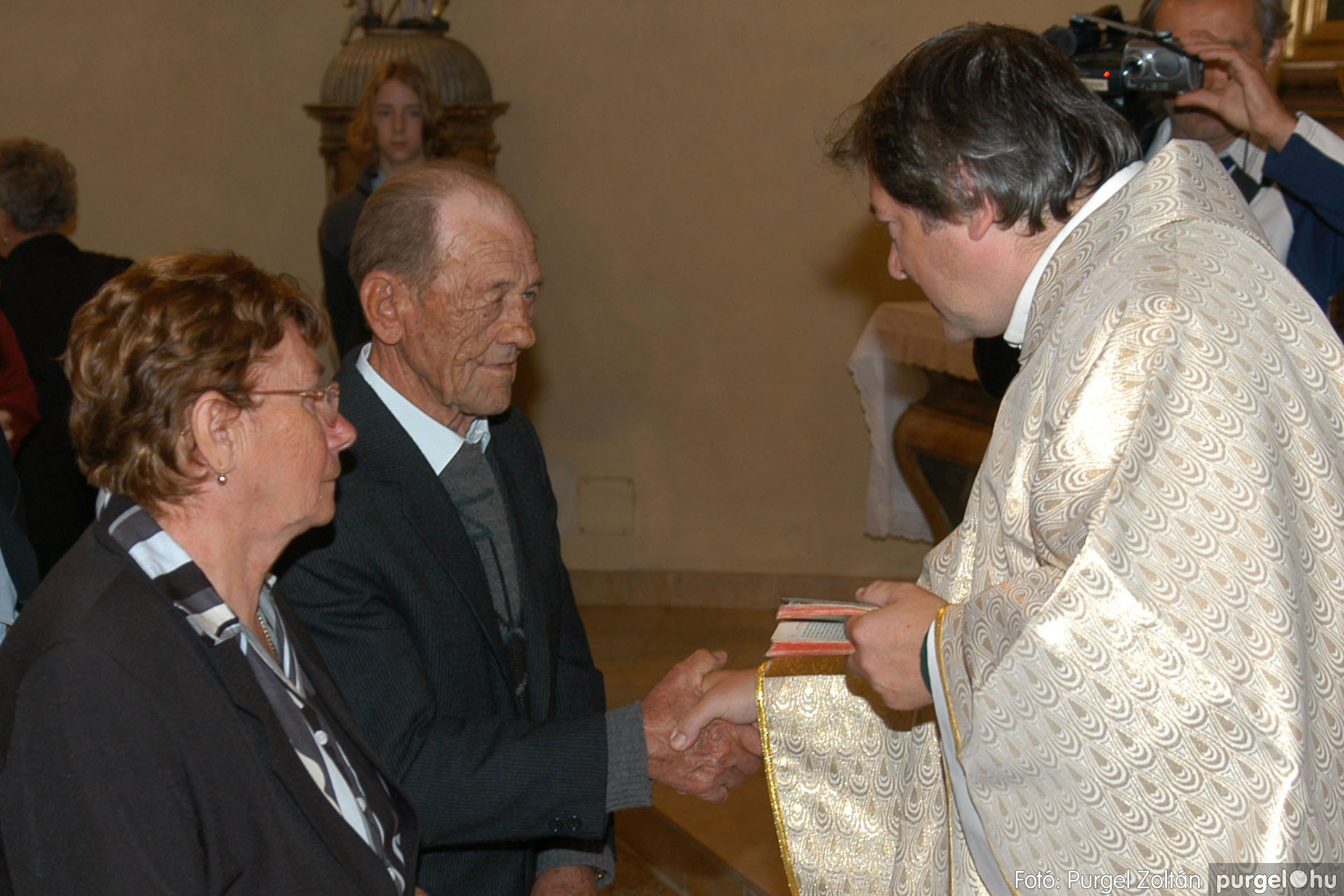 2007.09.30. 033 Kisboldogasszony Templom házassági évfordulók - Fotó:PURGEL ZOLTÁN© DSC_0145q.jpg