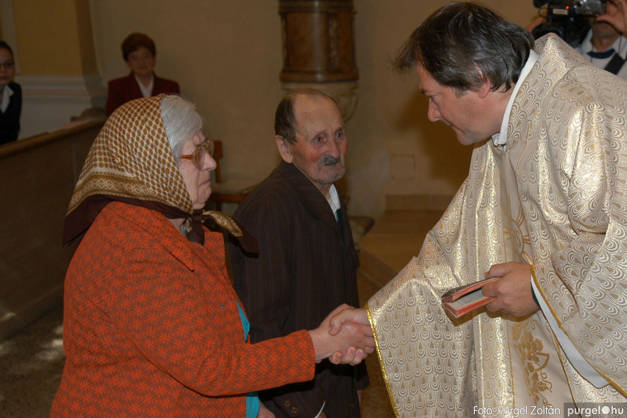 2007.09.30. 030 Kisboldogasszony Templom házassági évfordulók - Fotó:PURGEL ZOLTÁN© DSC_0142q.jpg