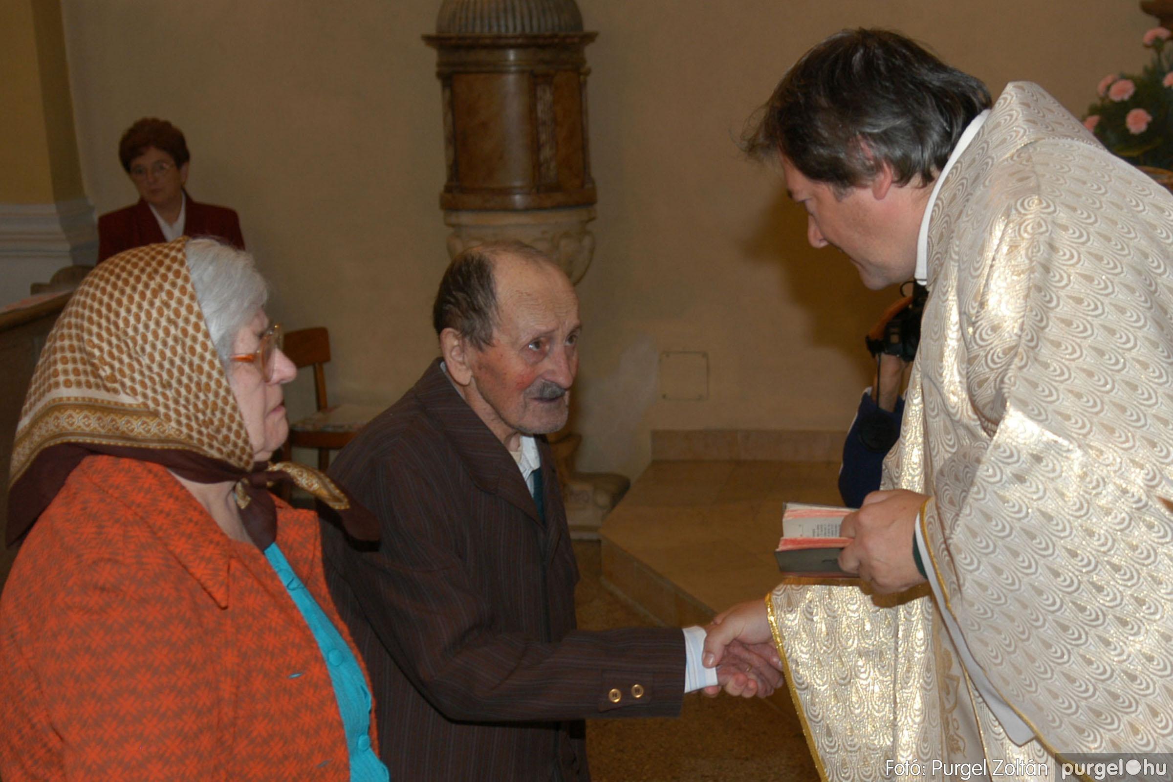 2007.09.30. 029 Kisboldogasszony Templom házassági évfordulók - Fotó:PURGEL ZOLTÁN© DSC_0141q.jpg