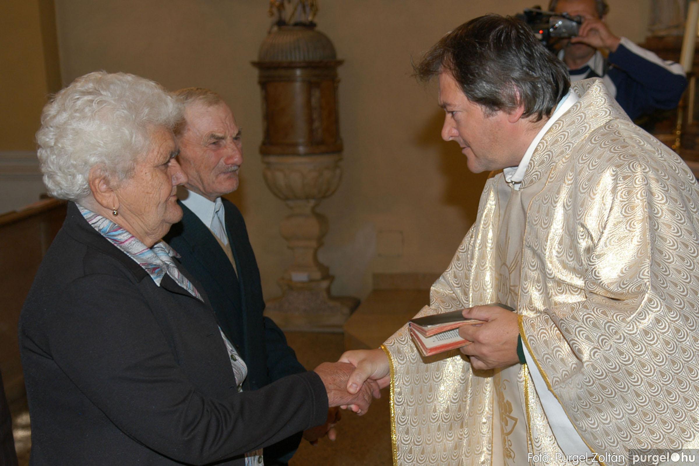 2007.09.30. 028 Kisboldogasszony Templom házassági évfordulók - Fotó:PURGEL ZOLTÁN© DSC_0140q.jpg