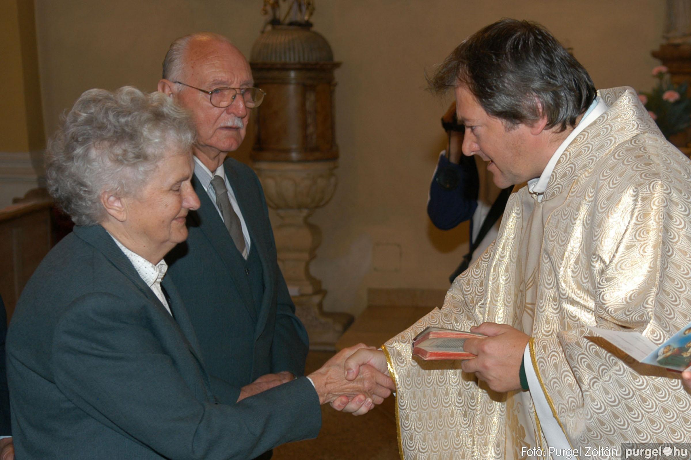 2007.09.30. 026 Kisboldogasszony Templom házassági évfordulók - Fotó:PURGEL ZOLTÁN© DSC_0138q.jpg