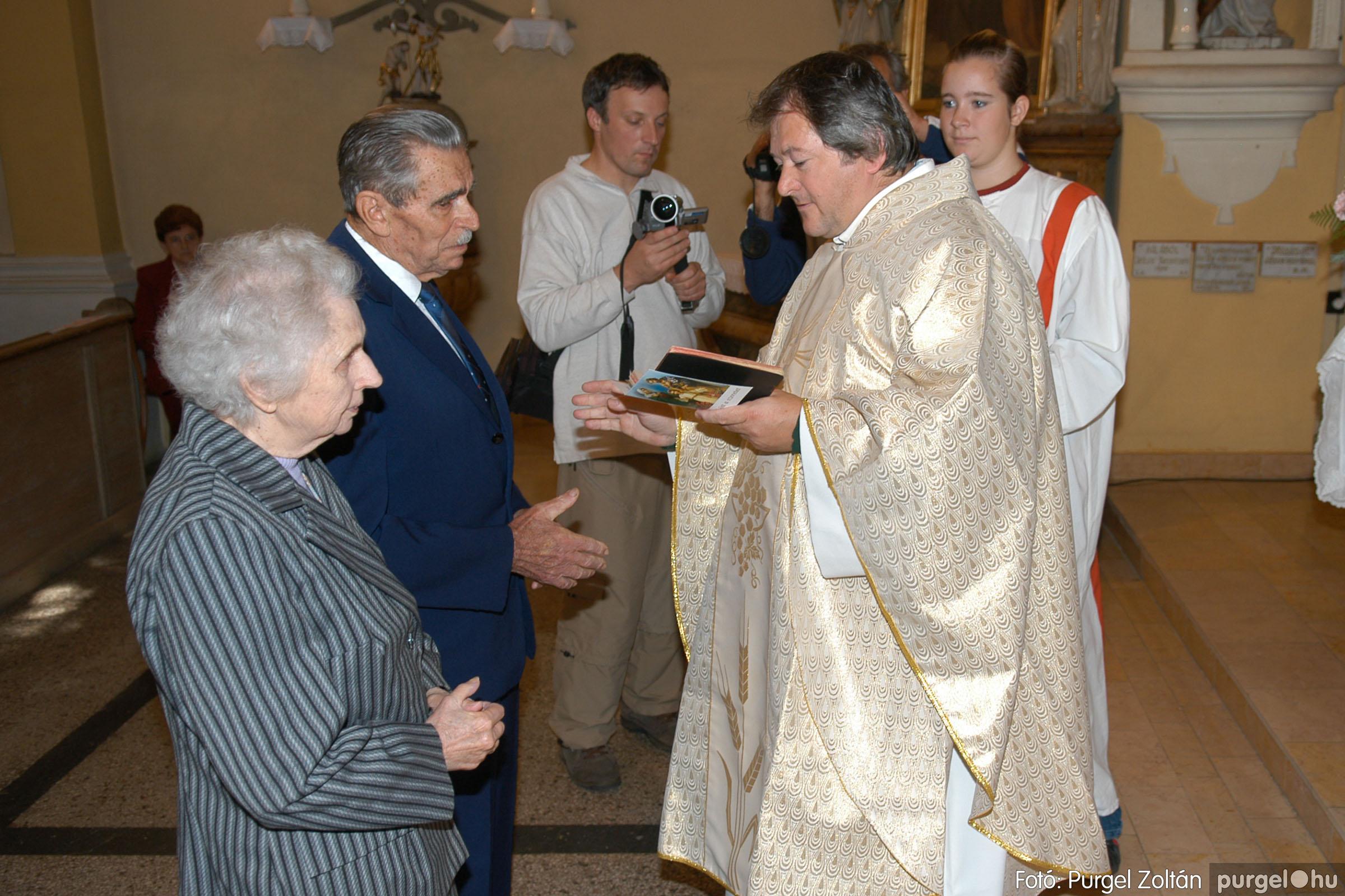 2007.09.30. 023 Kisboldogasszony Templom házassági évfordulók - Fotó:PURGEL ZOLTÁN© DSC_0135q.jpg