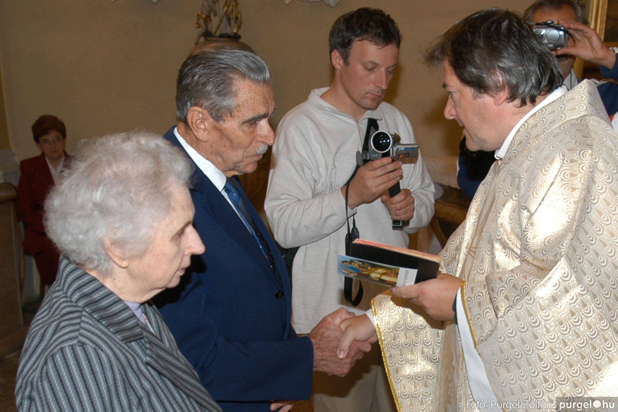 2007.09.30. 022 Kisboldogasszony Templom házassági évfordulók - Fotó:PURGEL ZOLTÁN© DSC_0134q.jpg