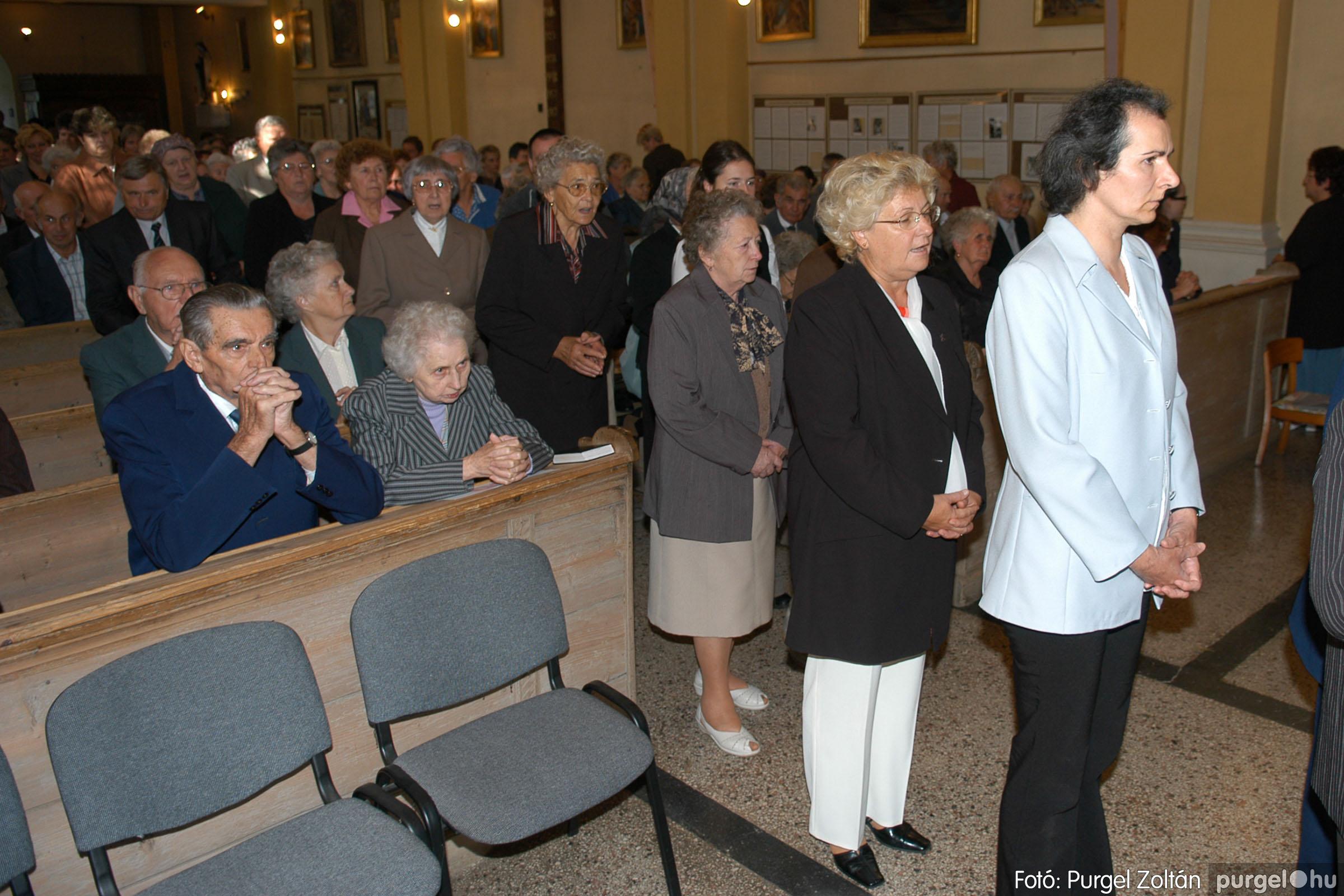 2007.09.30. 016 Kisboldogasszony Templom házassági évfordulók - Fotó:PURGEL ZOLTÁN© DSC_0125q.jpg