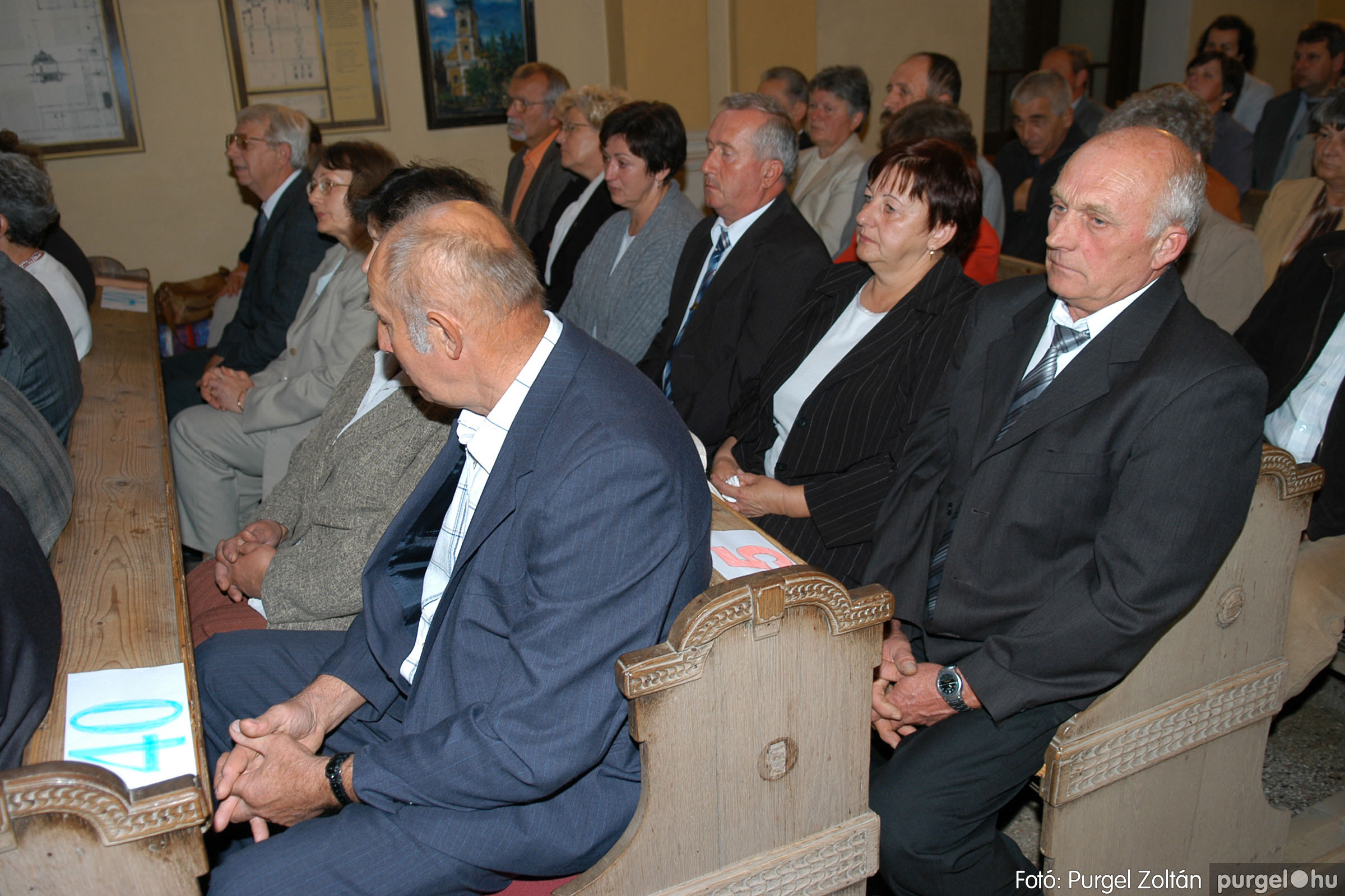 2007.09.30. 010 Kisboldogasszony Templom házassági évfordulók - Fotó:PURGEL ZOLTÁN© DSC_0099q.jpg