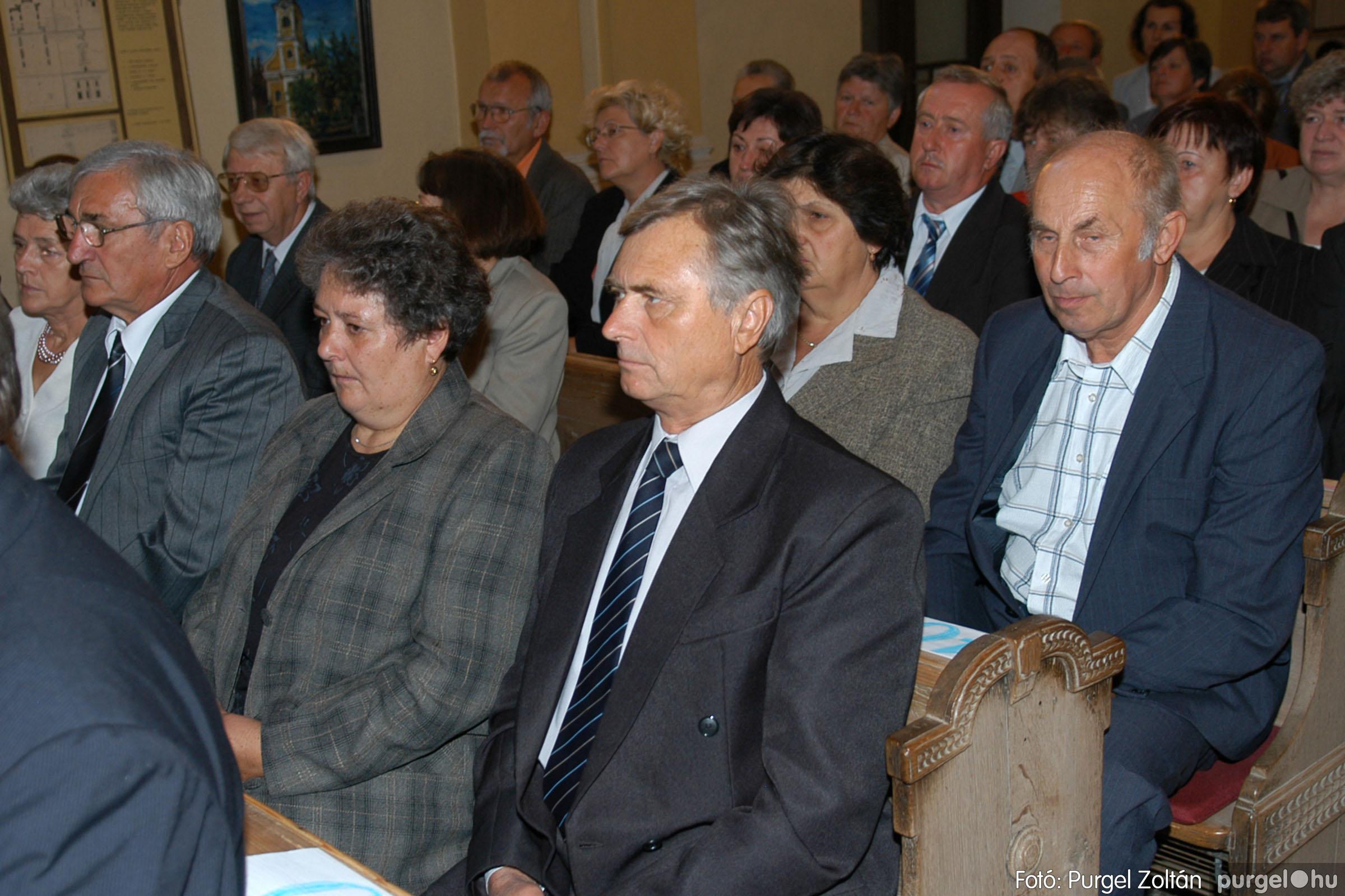 2007.09.30. 008 Kisboldogasszony Templom házassági évfordulók - Fotó:PURGEL ZOLTÁN© DSC_0097q.jpg
